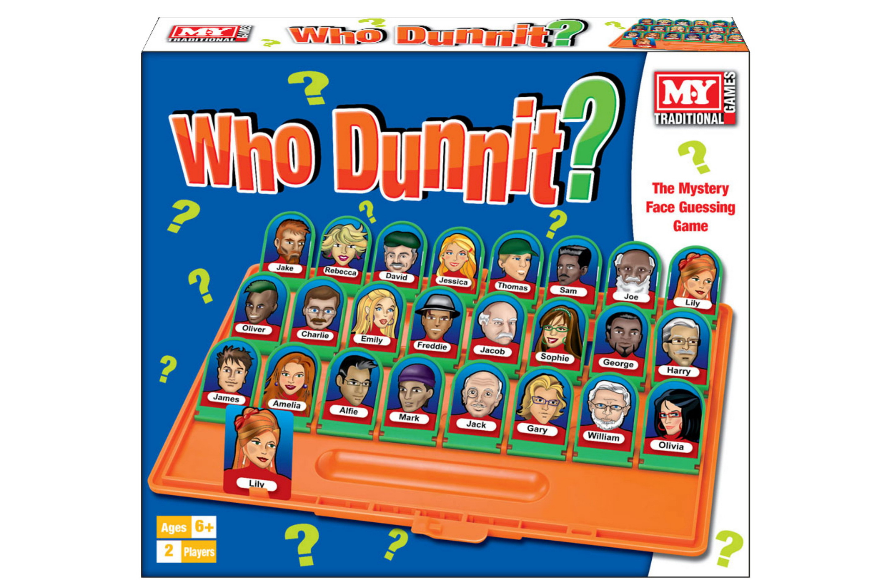 """""""Who Dunnit"""" Game In Printed Box - """"M.Y"""""""