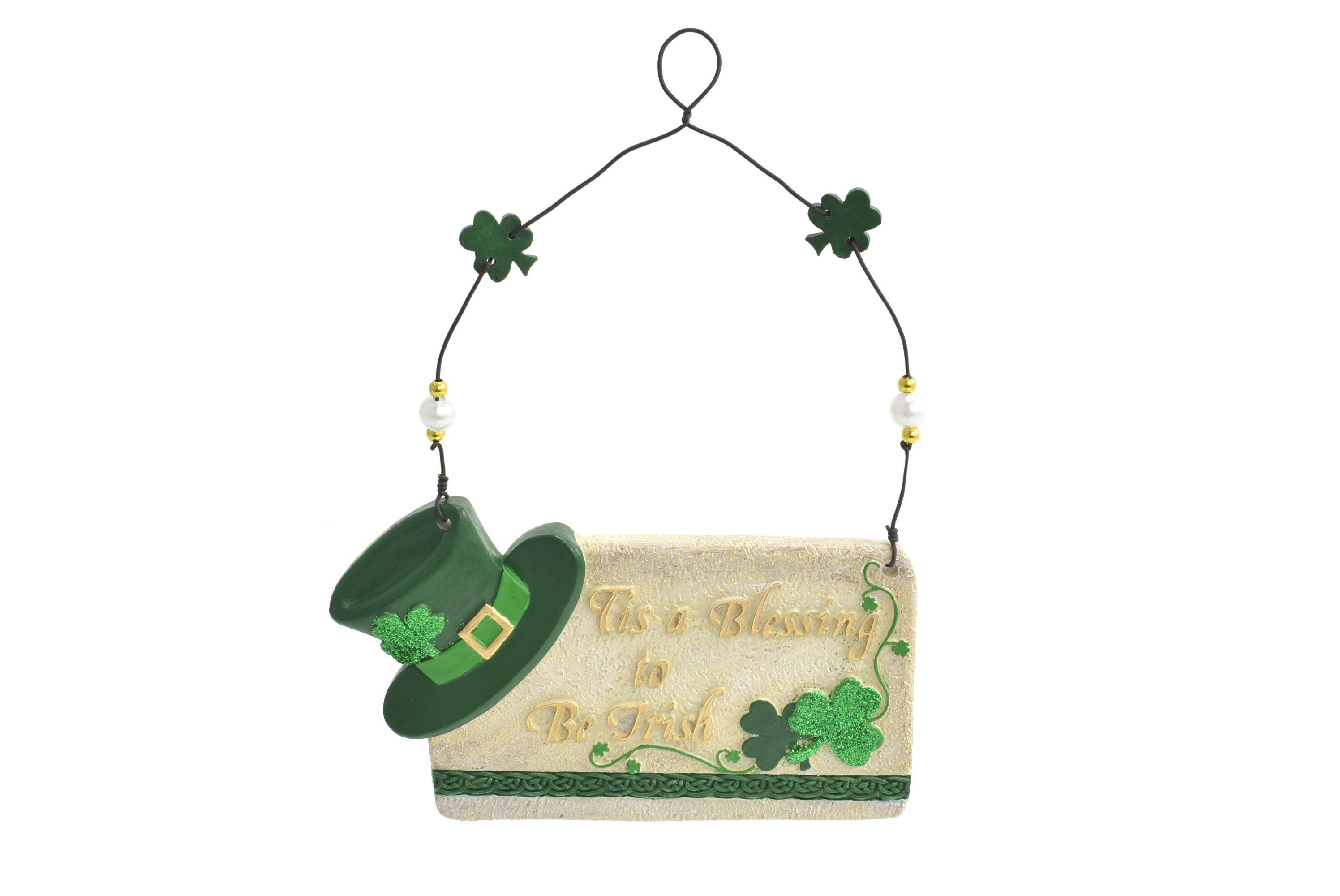 Polyresin Irish Hanging Sign