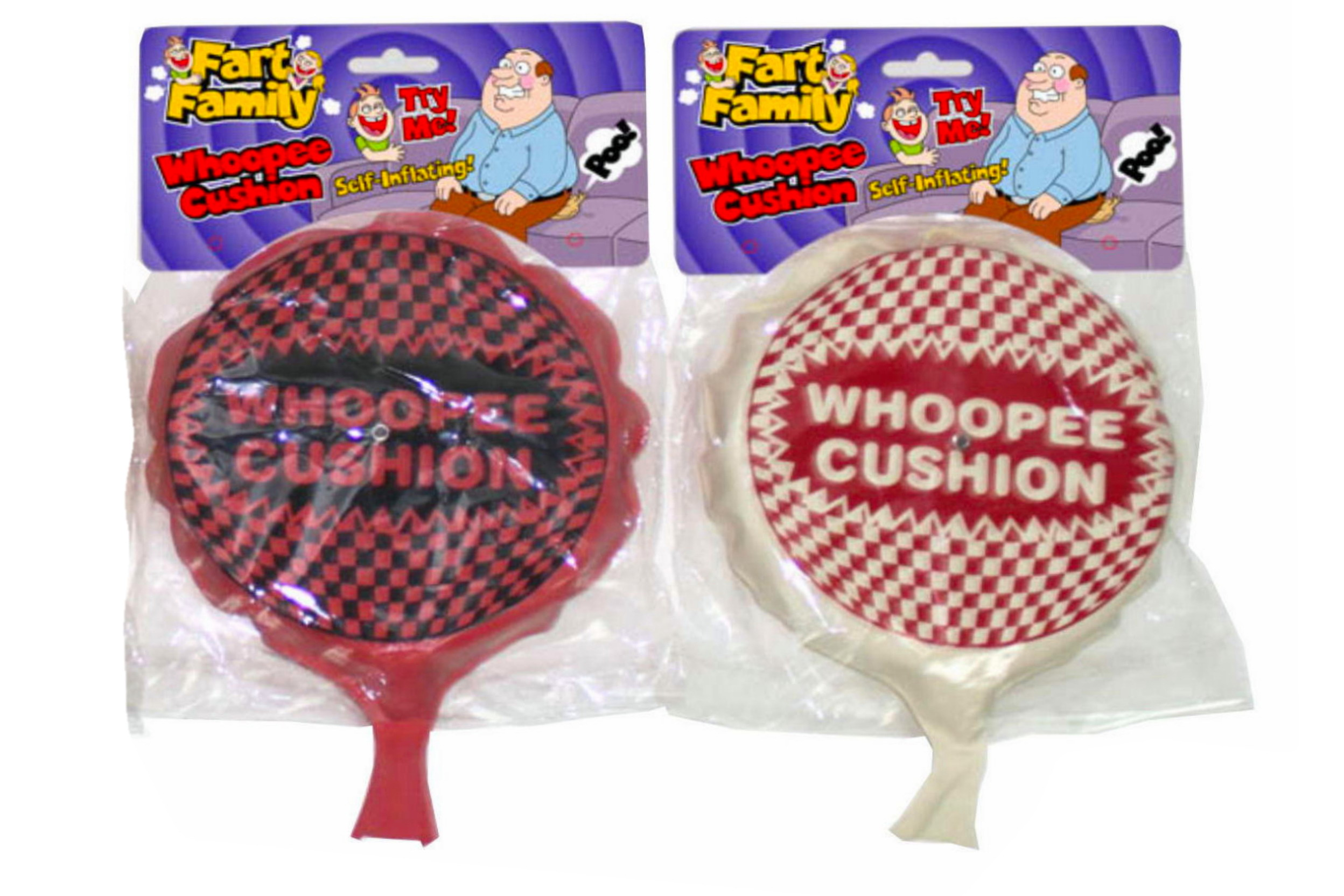 """Self Inflating Whoopee Cushion """"Fart Family"""""""
