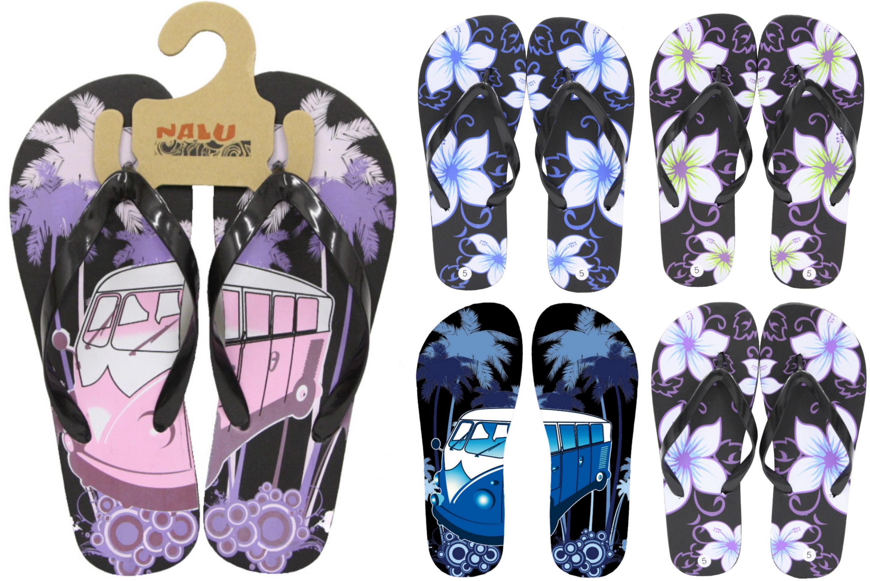 Flip Flop Adults Size 7 Design Print