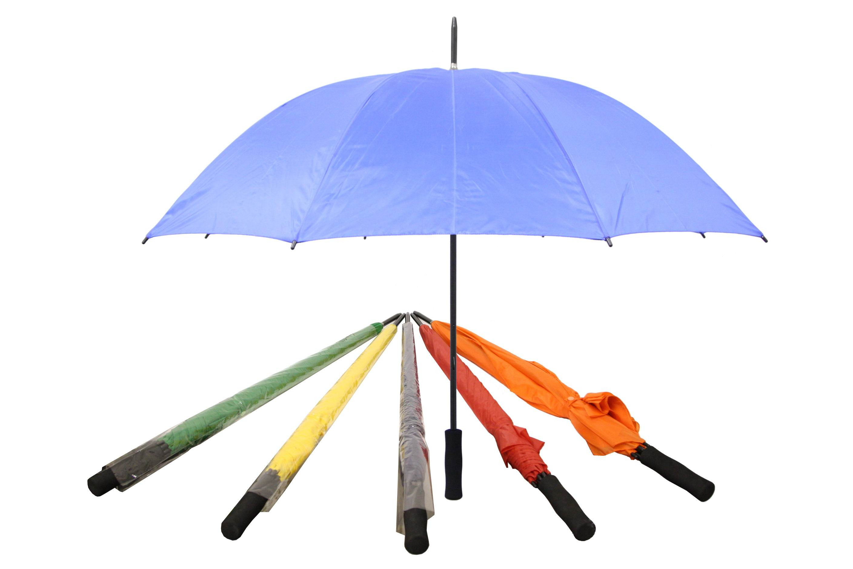 "29""/74cm Rib Golf Umbrella With Eva Handle - Bulk"