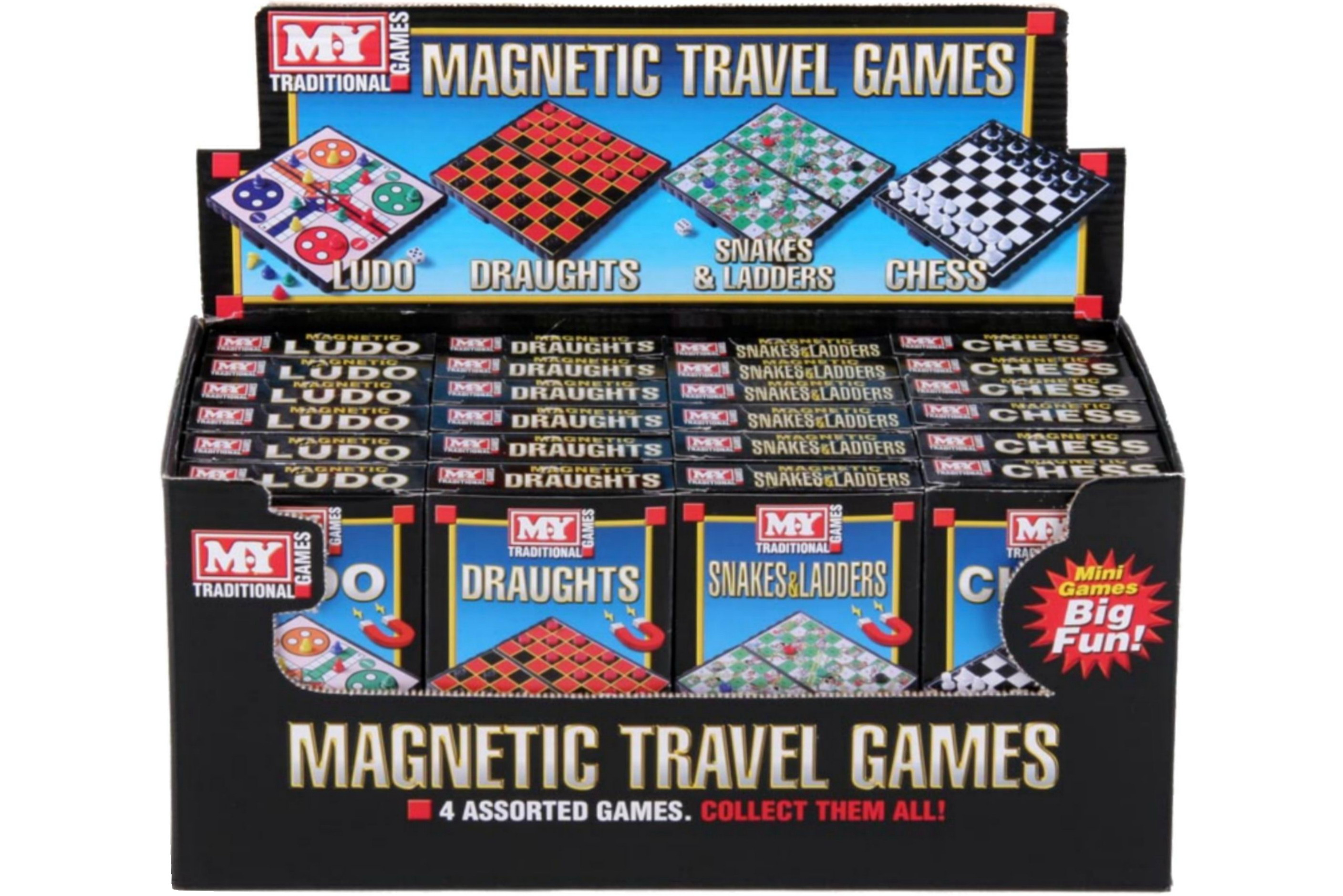 """""""M.Y"""" Four Assorted Games In Display Box"""