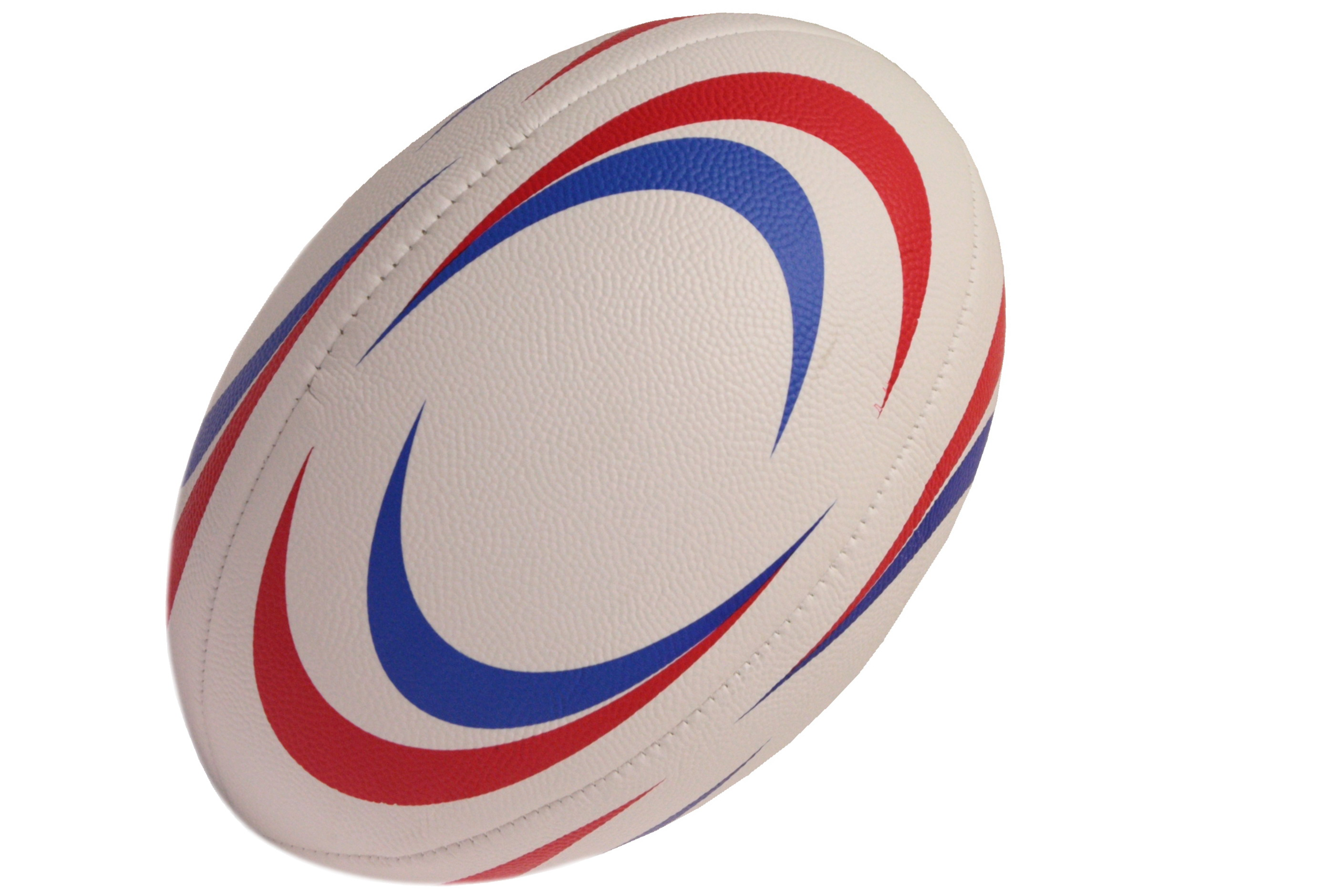 Size 5 Pvc Stitched Rugby Ball - Deflated