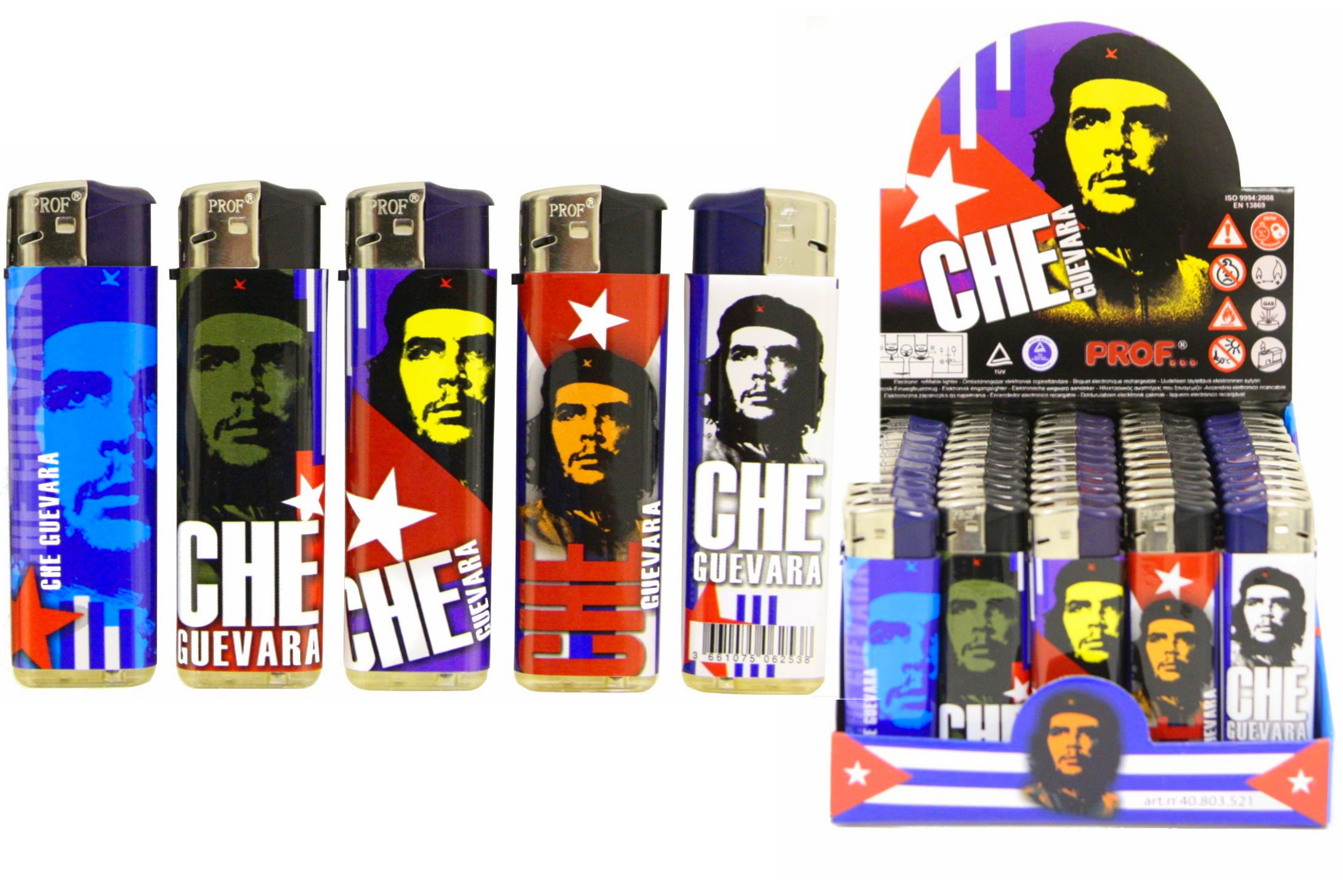 Che Guevara Disposable Lighter In Display Box