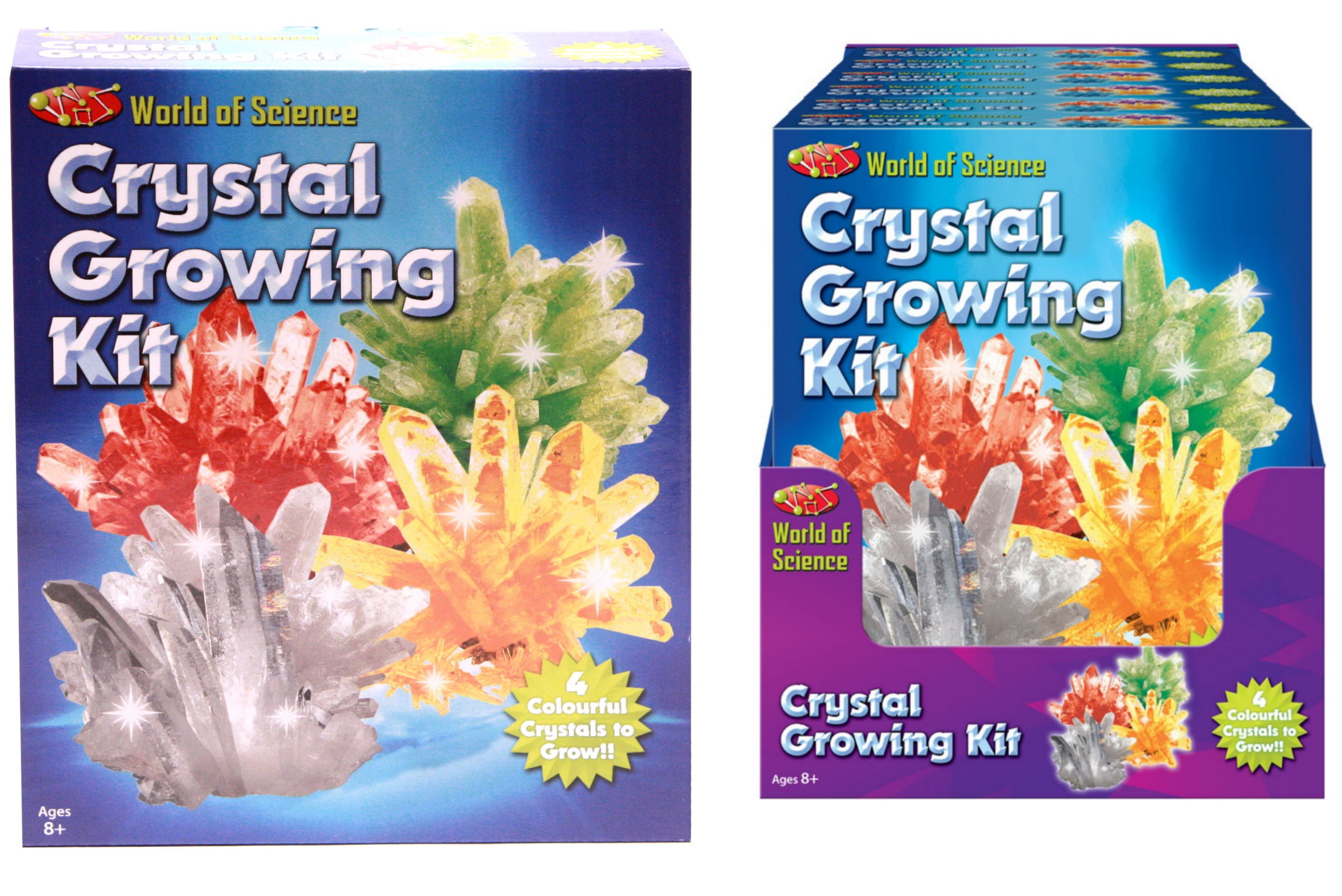Crystal Growing Kit In Colour Box / Pdq