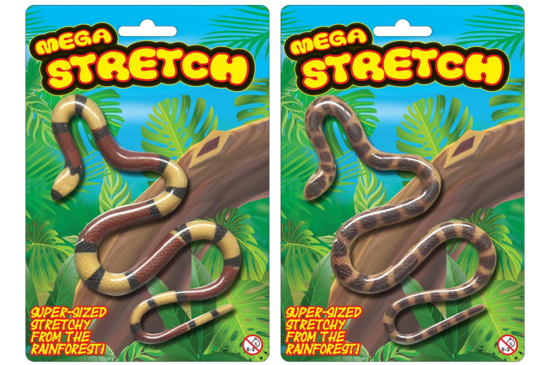 Stretchy Snake On Blistercard
