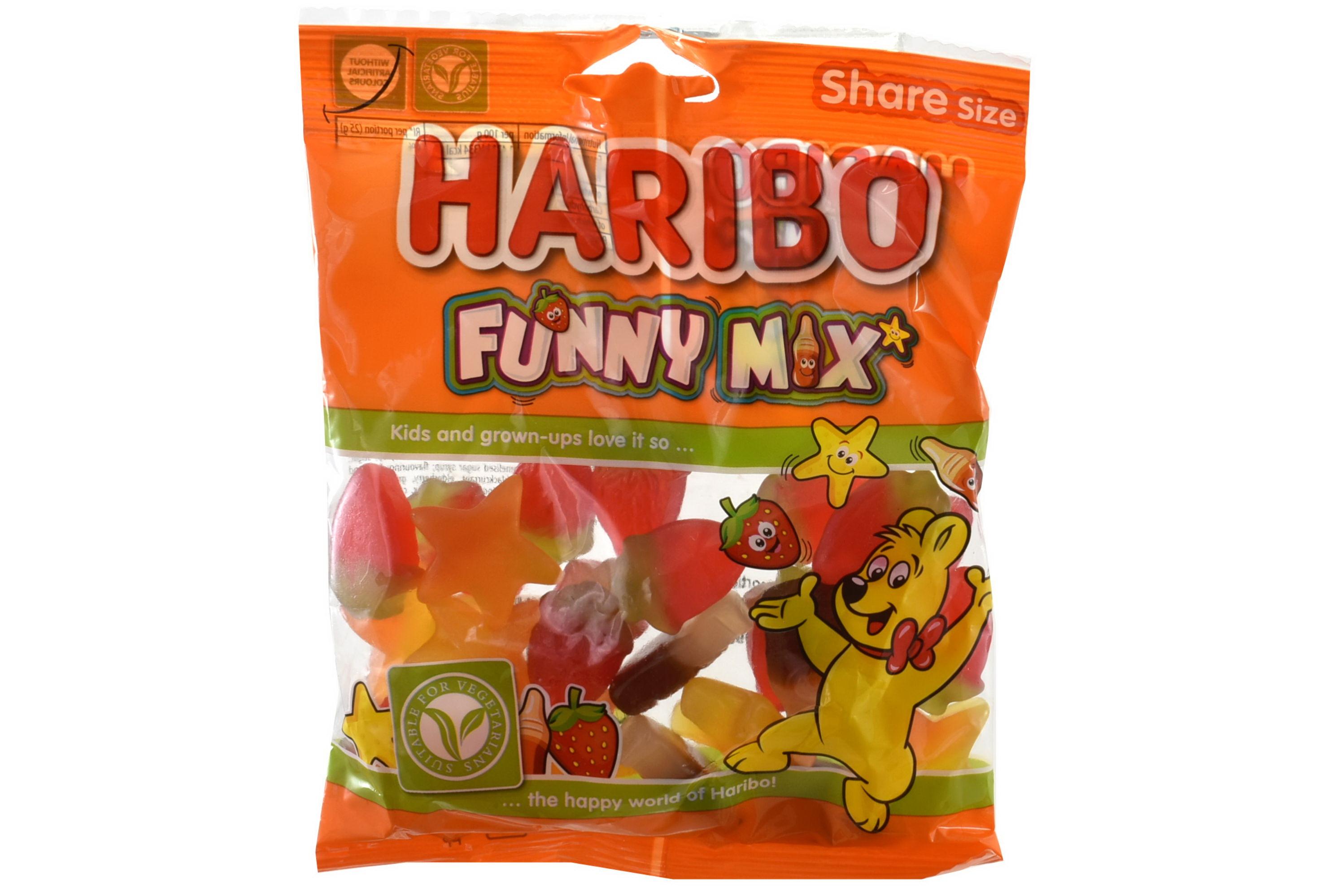 140g Funny Mix Prepacks - Haribo