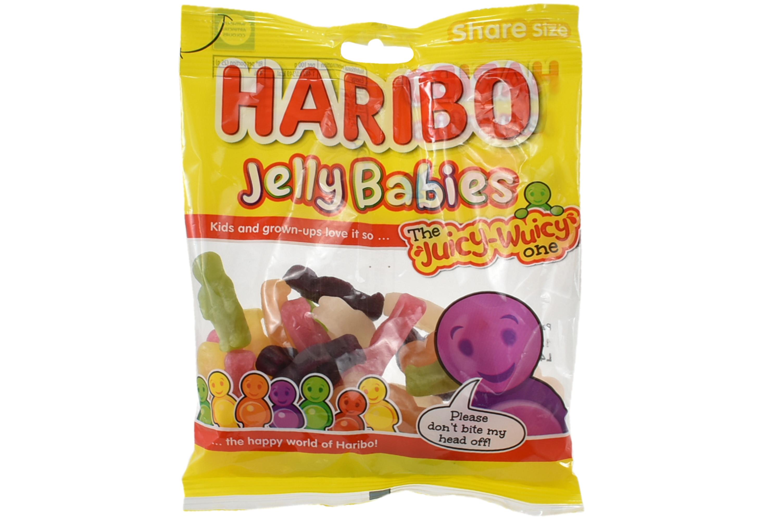 140g Jelly Babies Prepack - Haribo