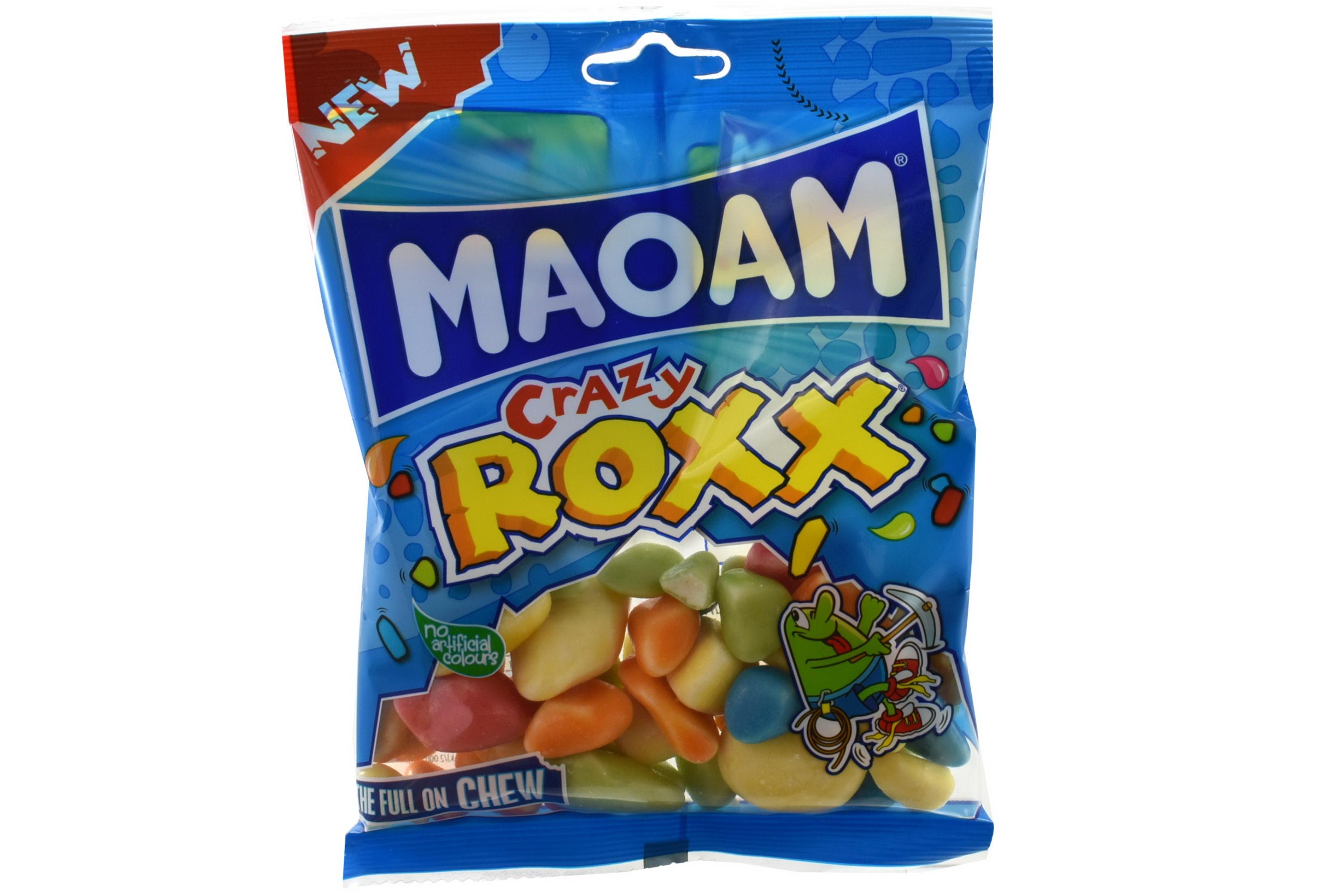 140g Maoam Crazy Roxx Prepack- Haribo