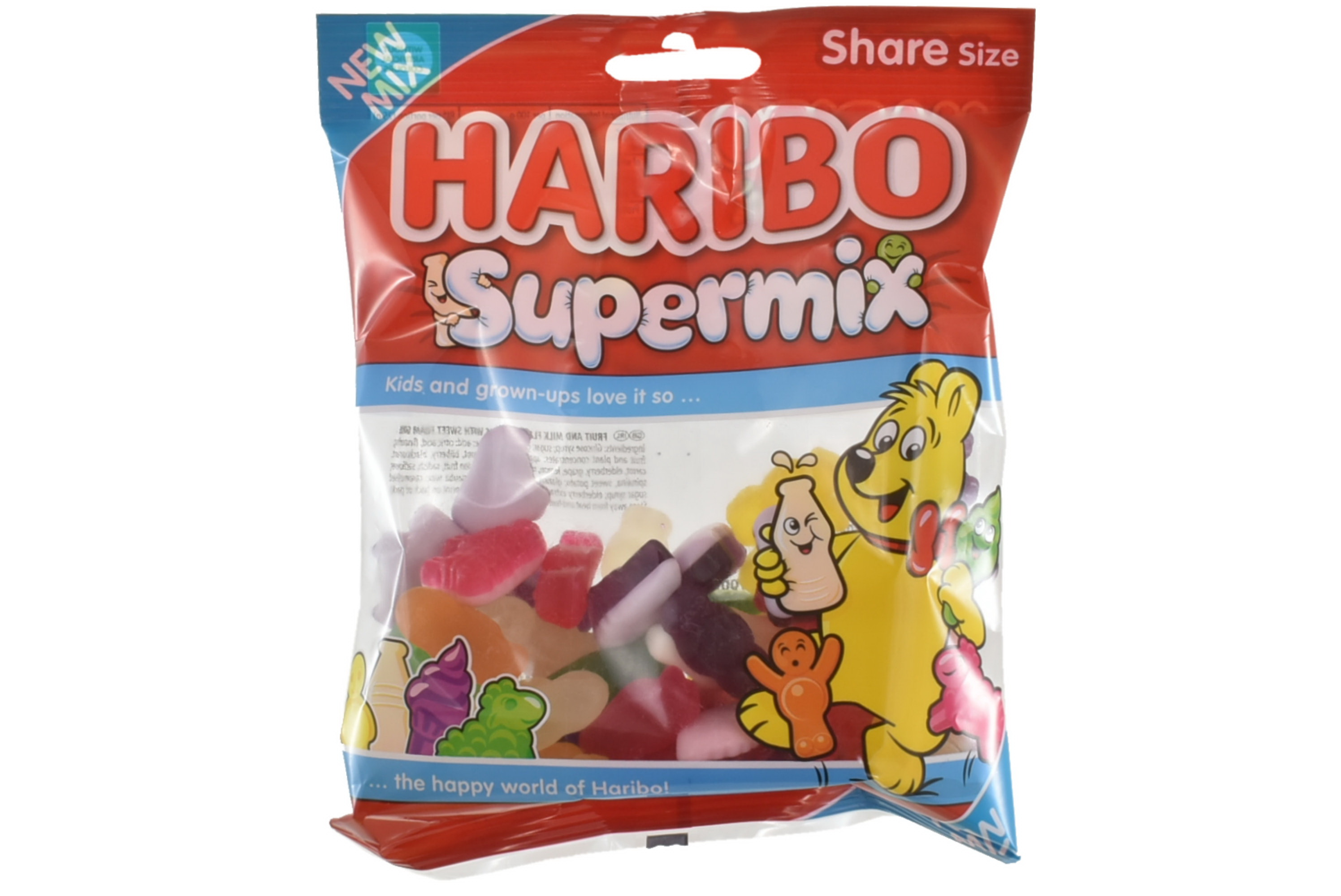 140g Supermix Prepack - Haribo