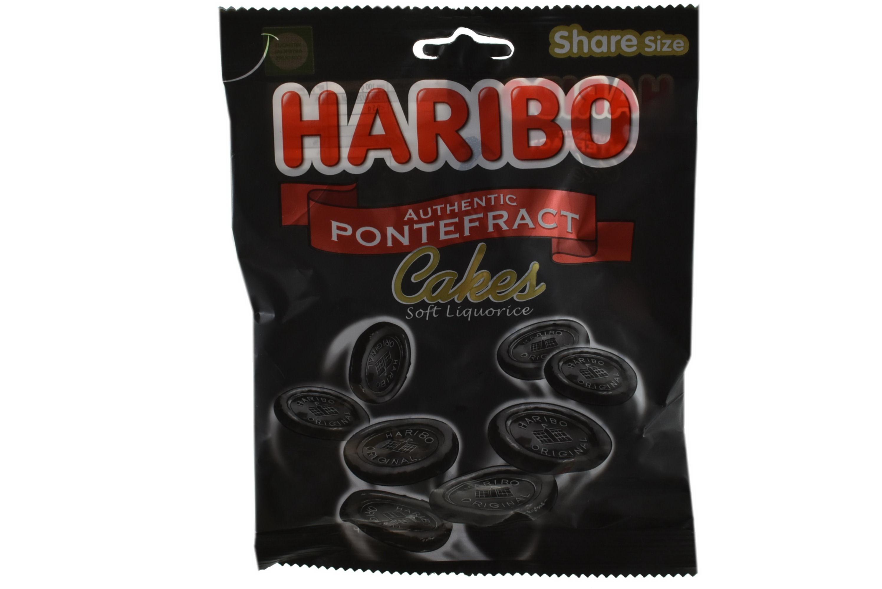 140g Pontefract Cakes Prepack - Haribo