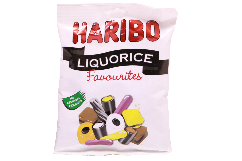 140g Liquorice Favourites Prepack - Haribo