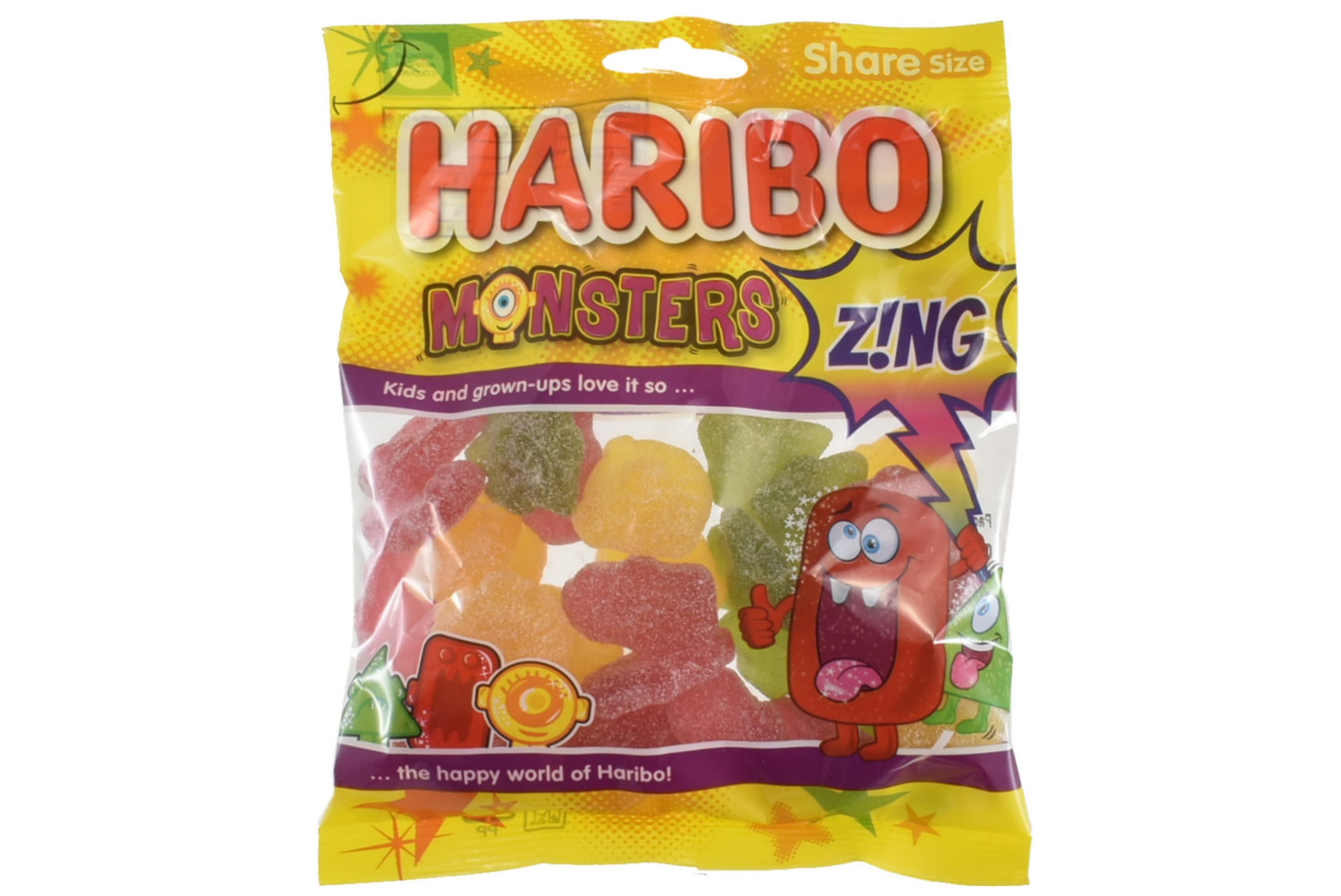 140g Monsters Zing Prepack - Haribo