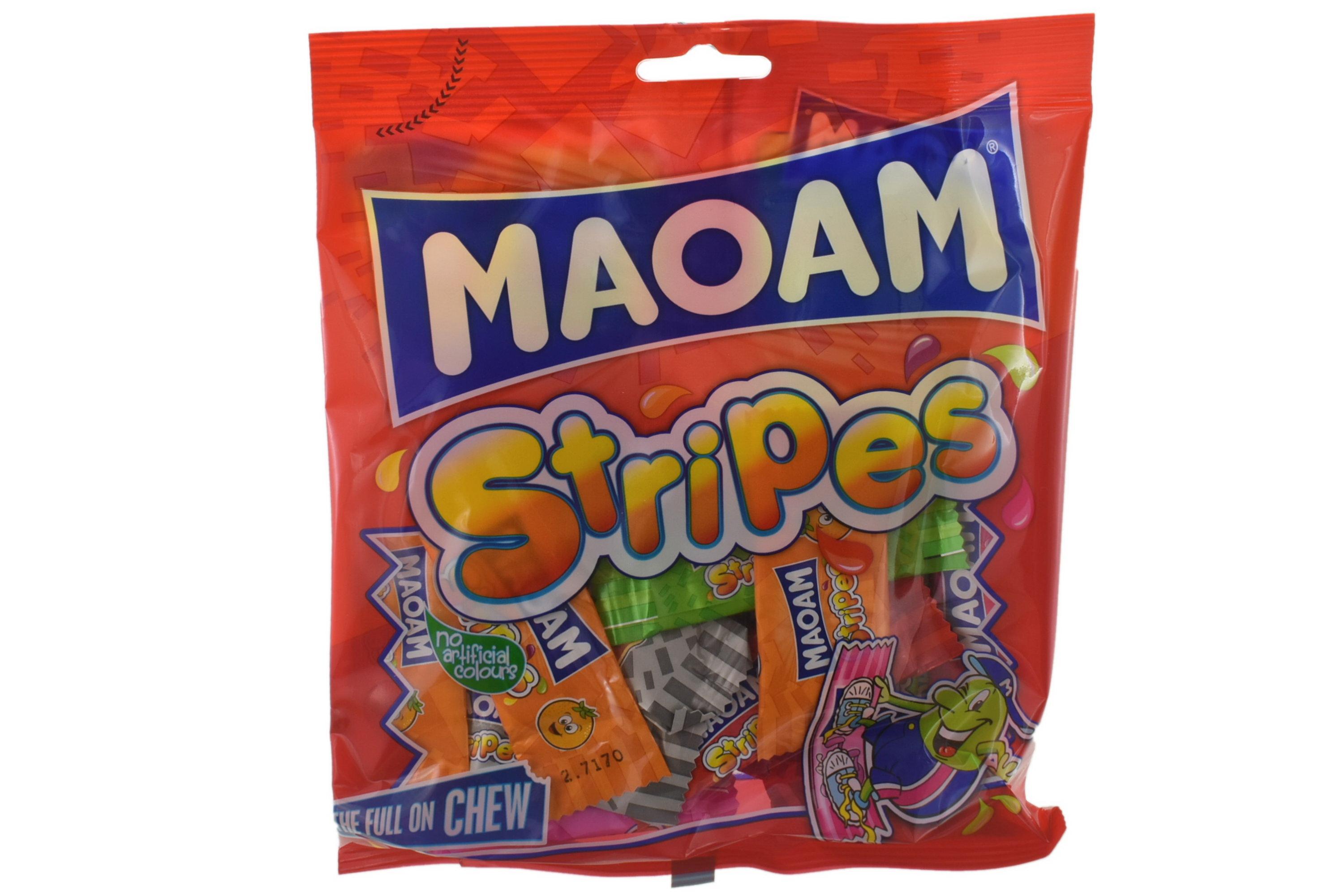 140g Maoam Stripes Chews Prepack - Haribo