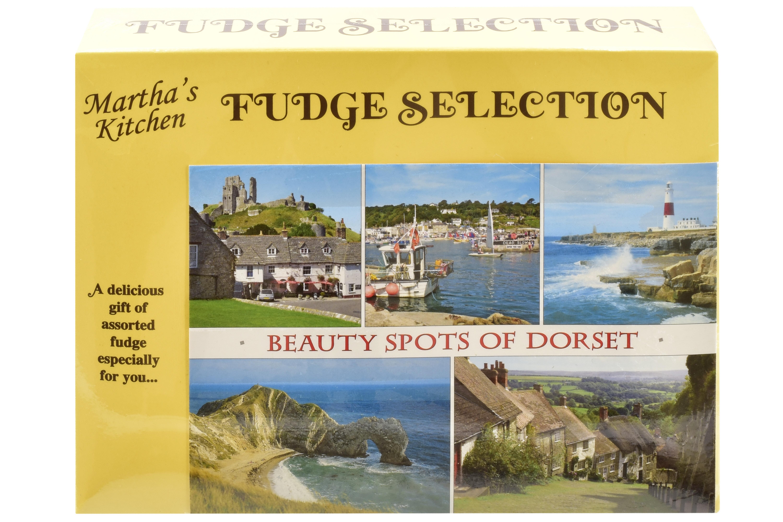 100g C/C Fudge & C/C Toffee Postcard Box