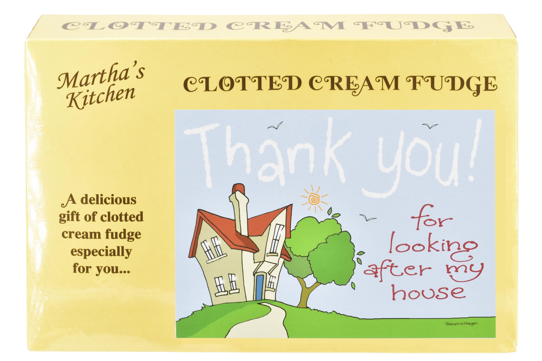 "200g Clotted Cream Fudge ""Home"" Postcard Box"