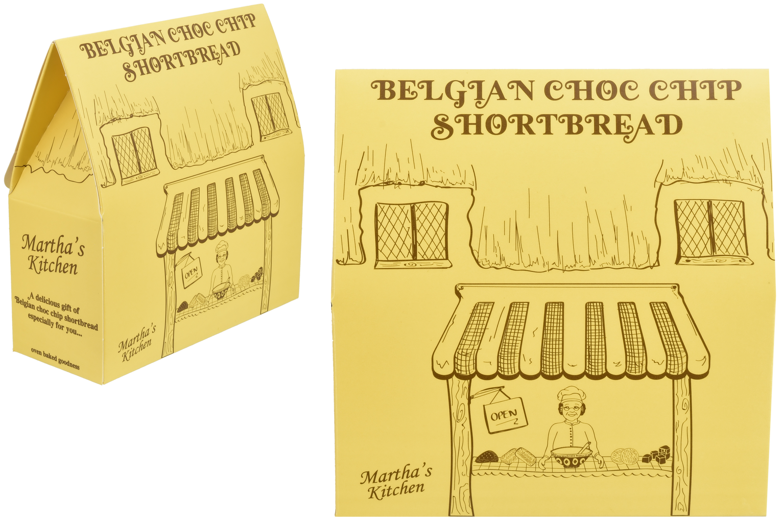 150g Belgian Choc Chip Shortbread Satchel