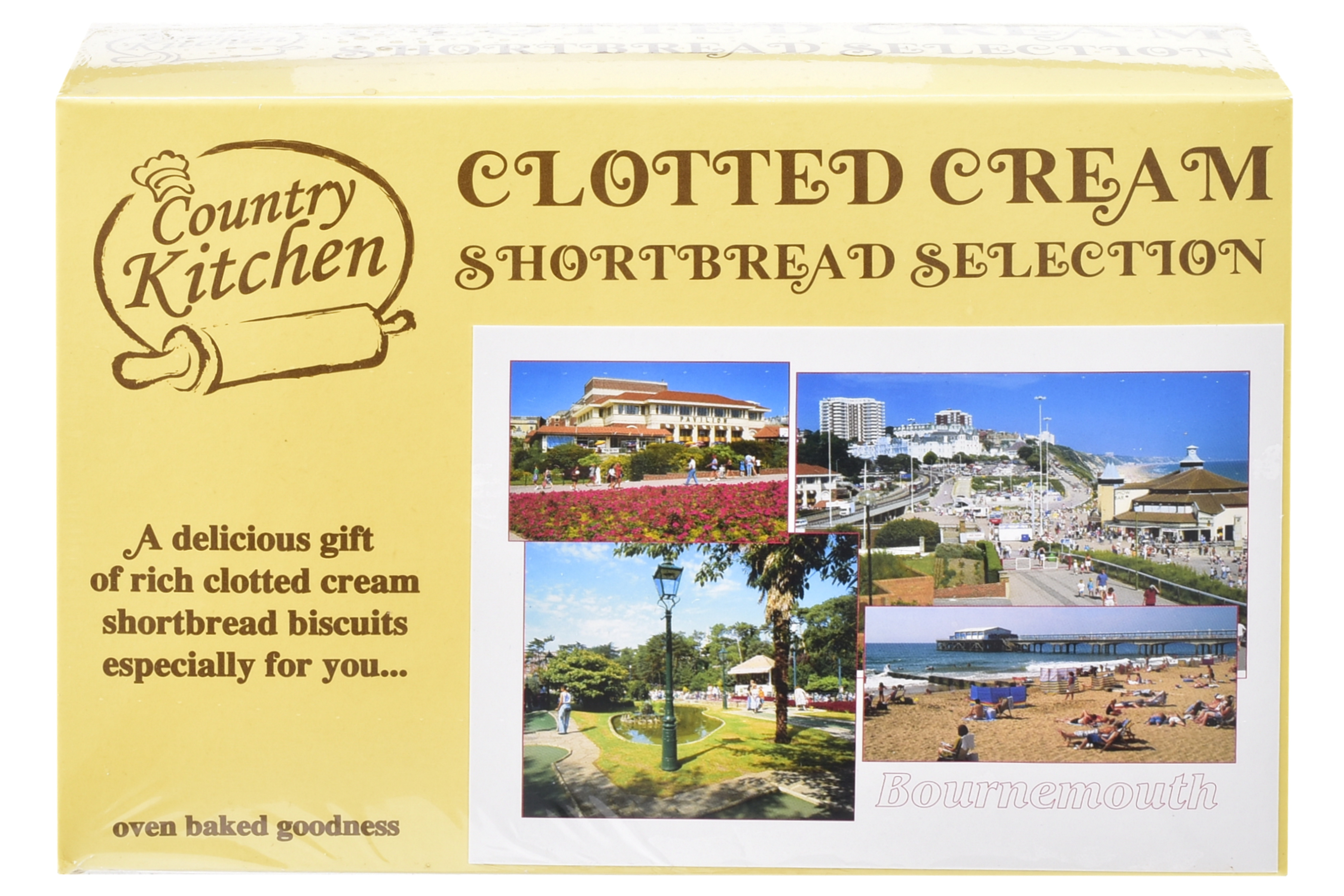 450g Postcard Gift Biscuit Selection