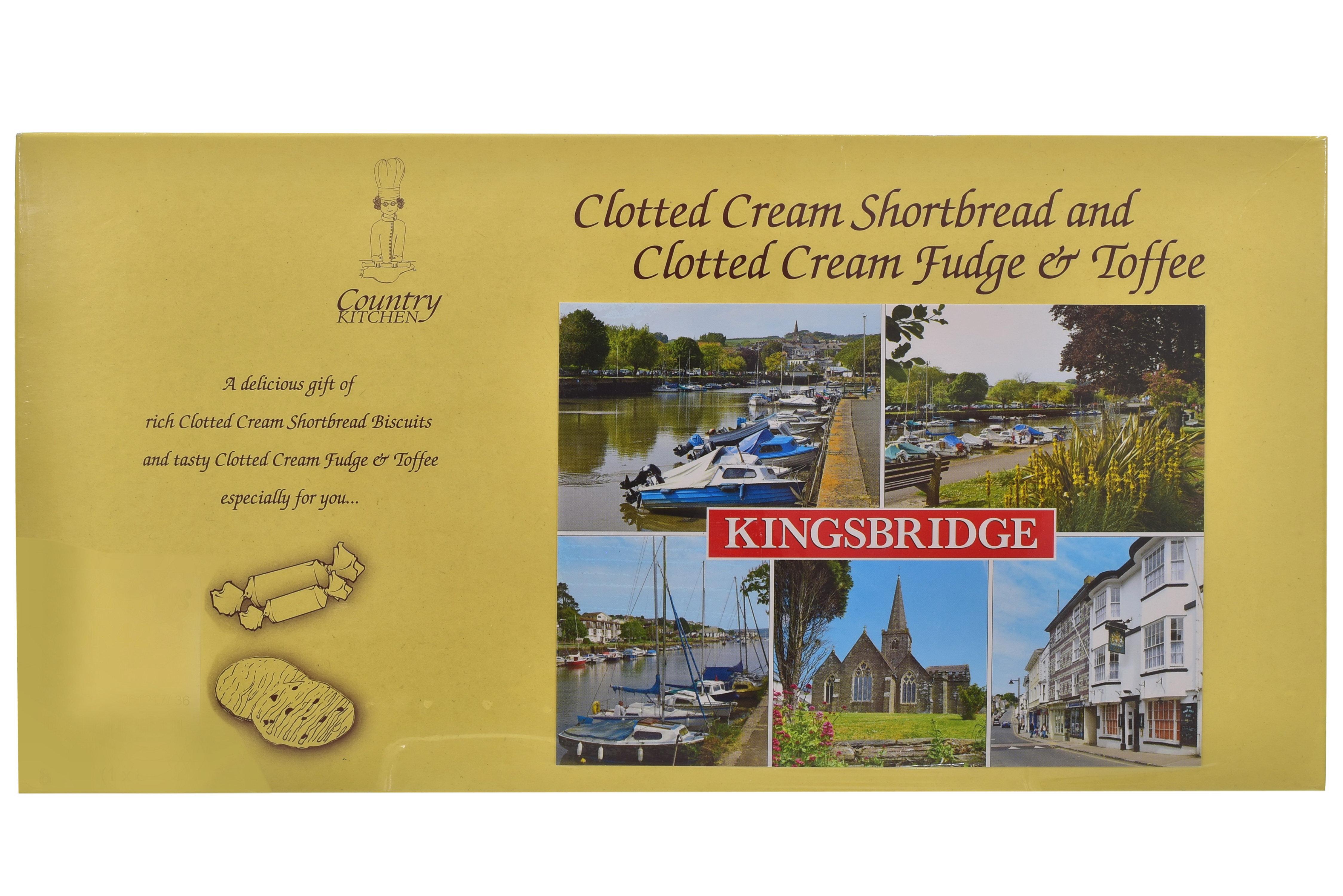 400g C/Cream S/Bread + C/C Fudge & C/C Toffee Gift Box