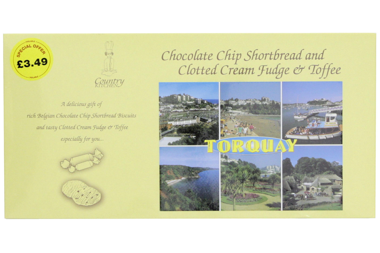 400g Choc Chip S/B +C/C Fudge & C/C Toffee Gift Box