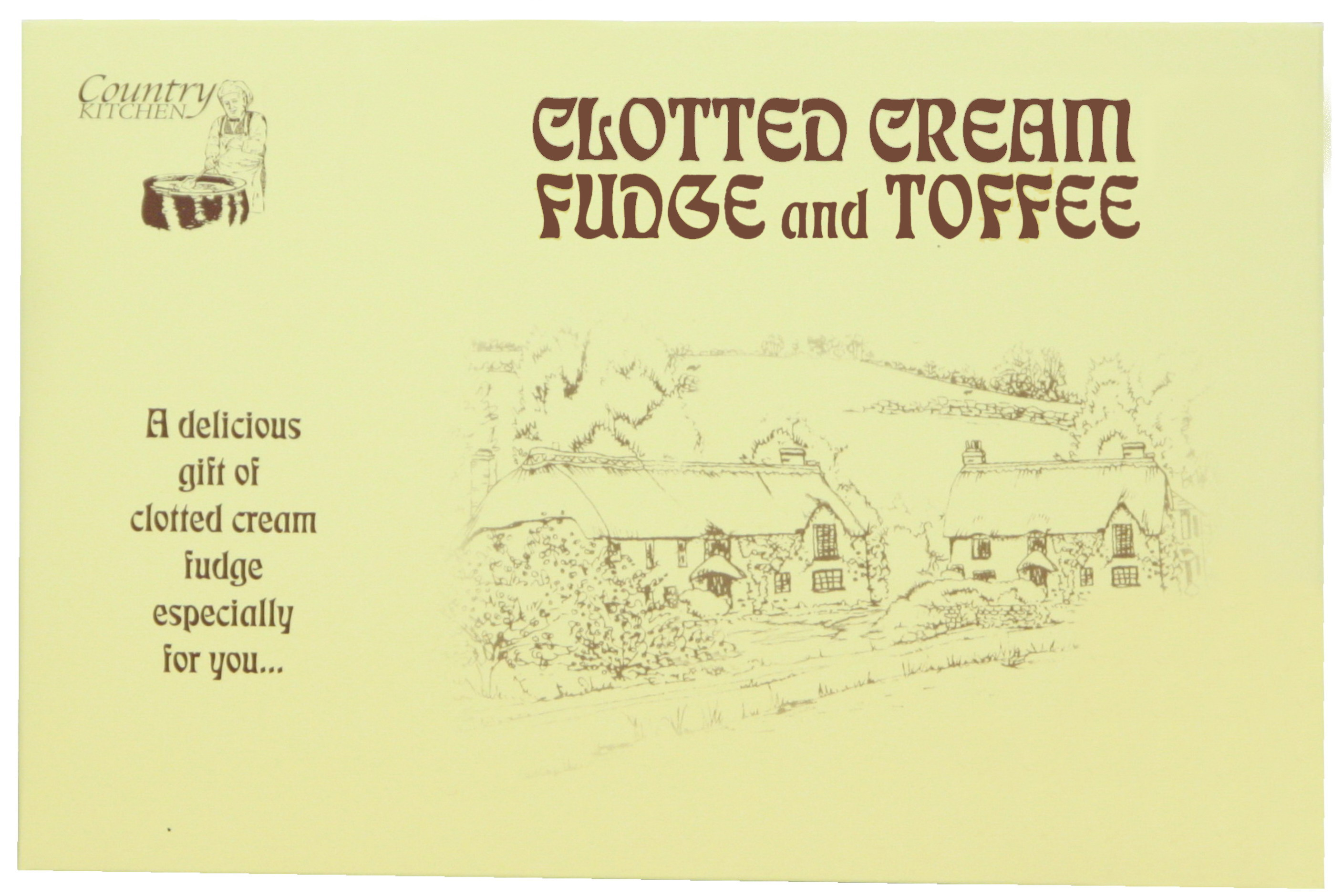 200g C/C Fudge & C/C Toffee Gift Box