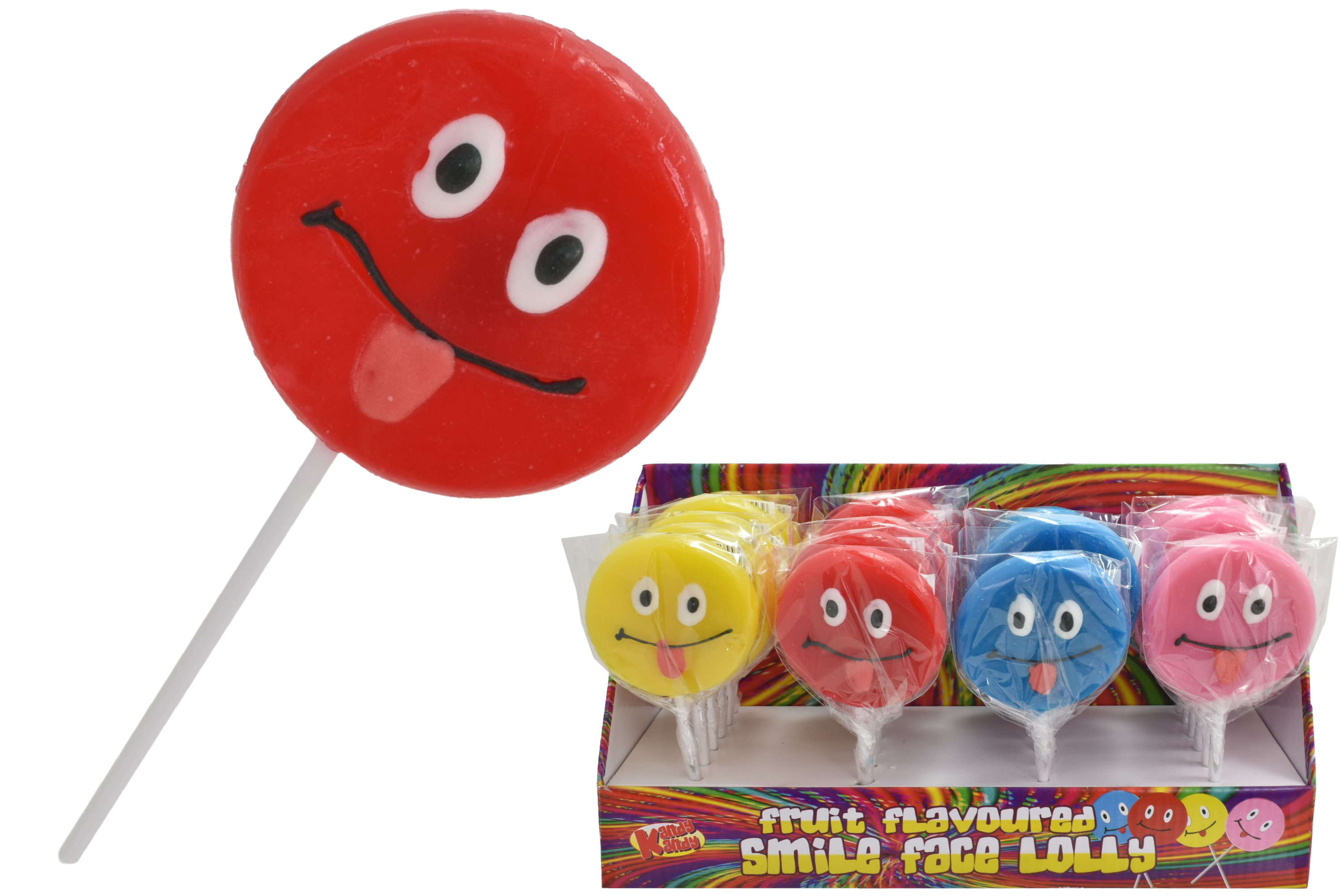 Smiley Face Lolly In Display Box