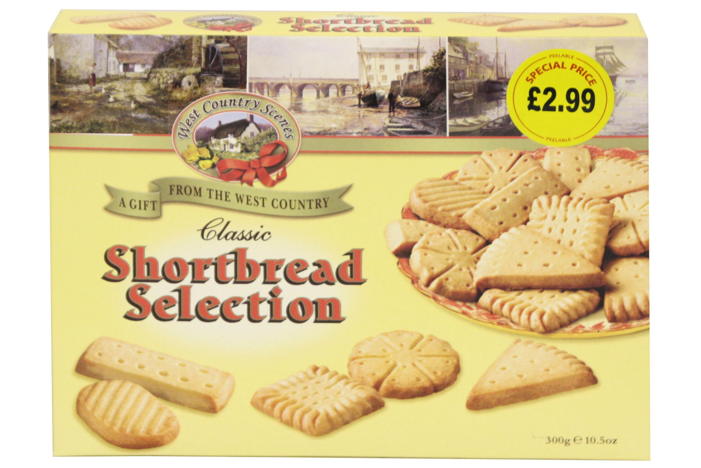 300g Classic Shortbread Selection (W-C-S)
