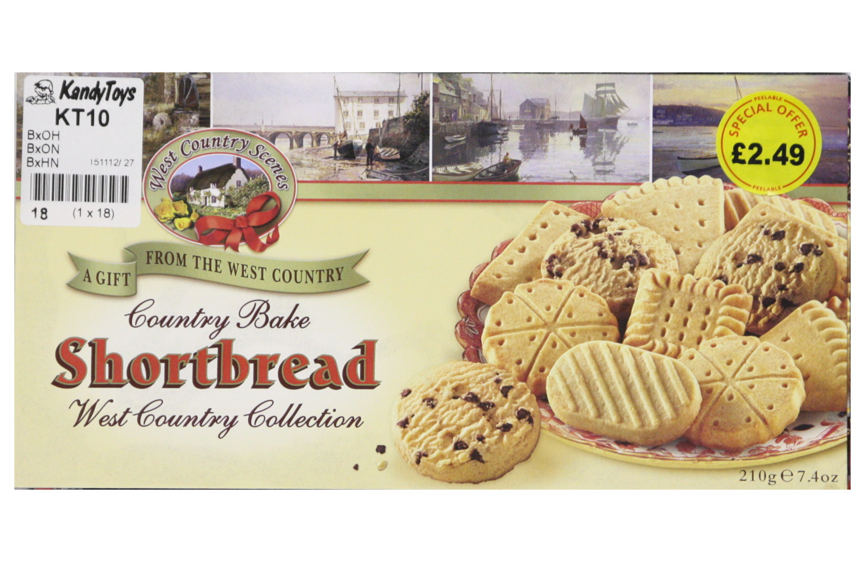 210g Shortbread Assortment