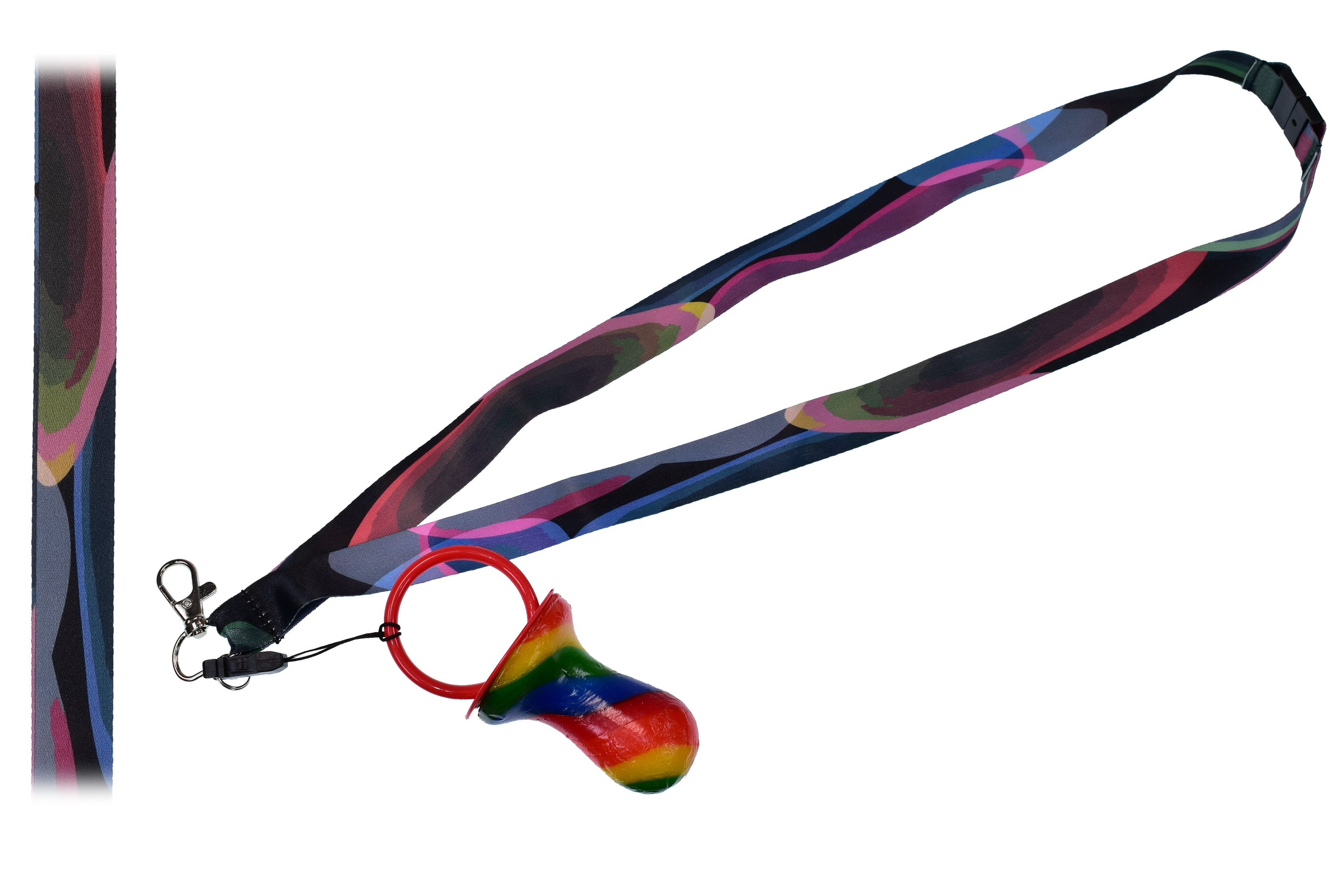 Bubbles Lanyard With Rock Dummy