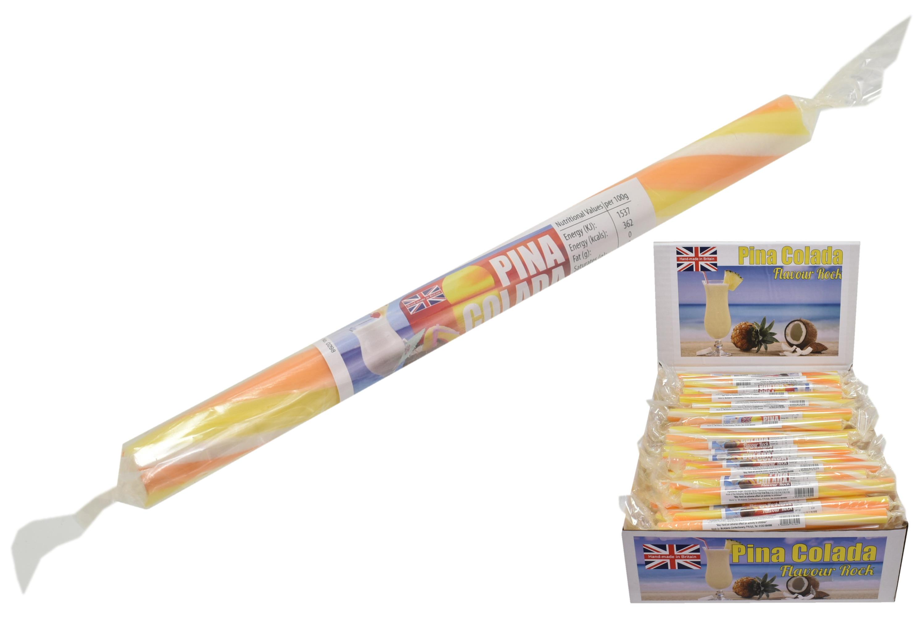 Pina Colada - Flavoured Rock Sticks