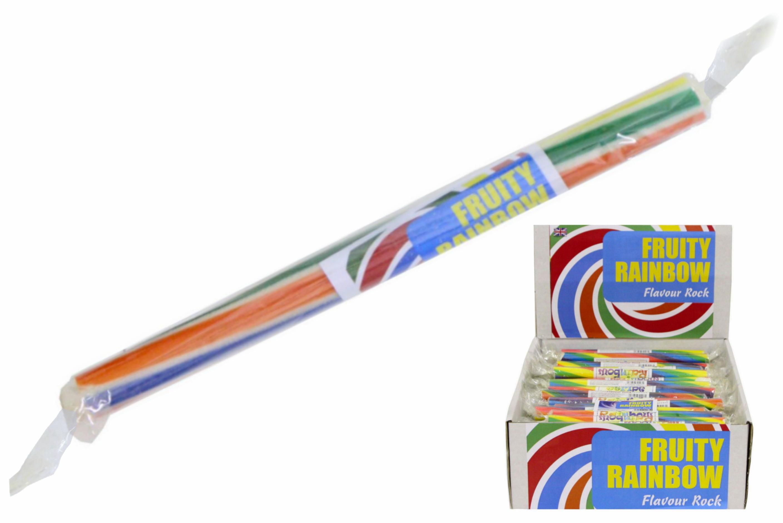 Fruity Rainbow - Flavoured Rock Sticks