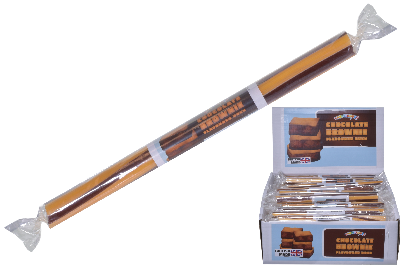 Salted Caramel Flavoured Rock Sticks In Display Box