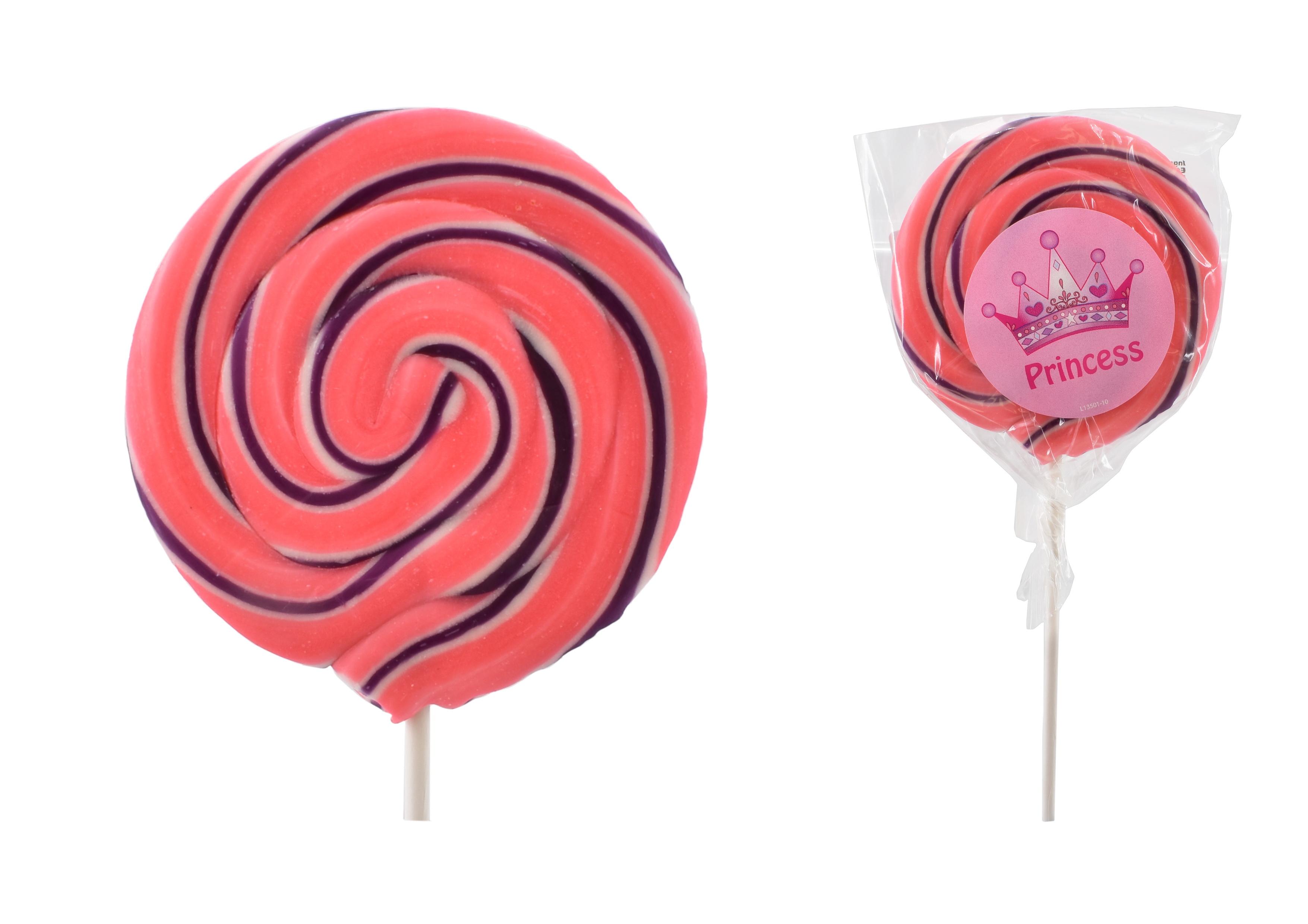 """Princess"" Wheel Lollies"