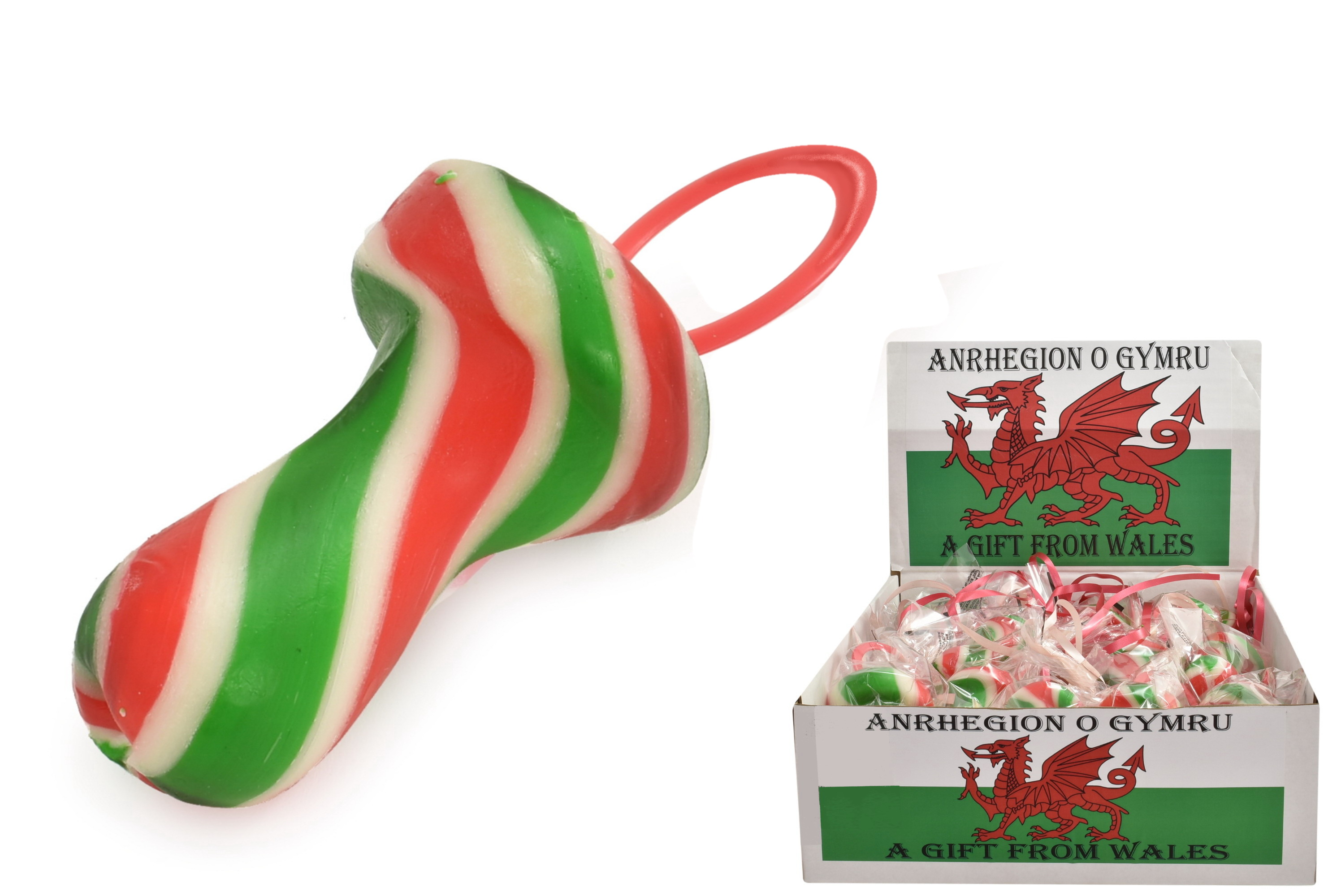 Welsh Flag Dummies In Display Box