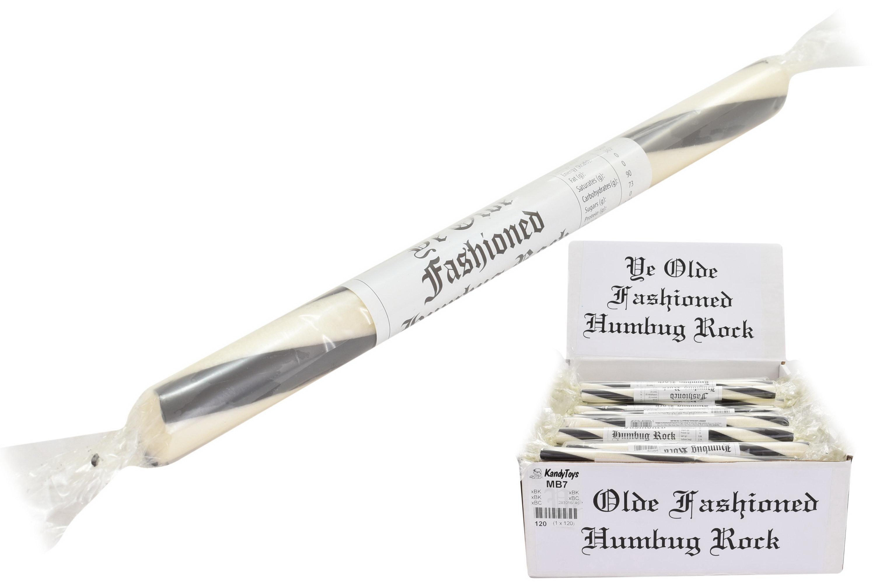 Black & White Humbug - Flavoured Rock Sticks
