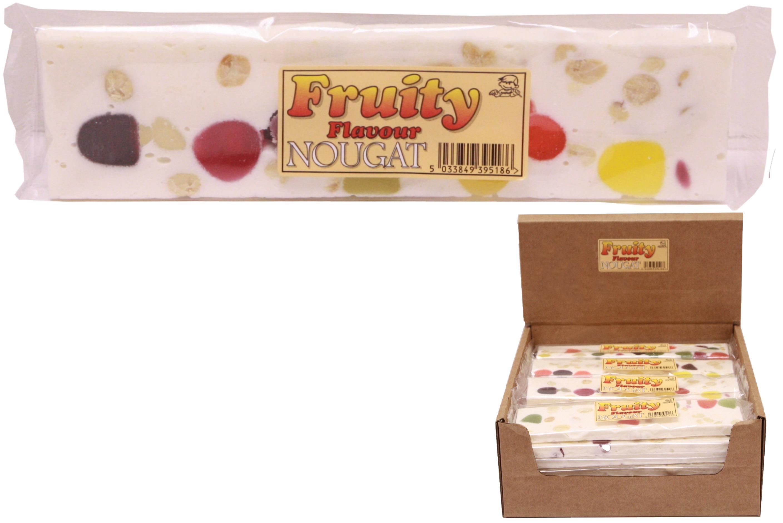 130g Fruity Flavour Nougat Bar