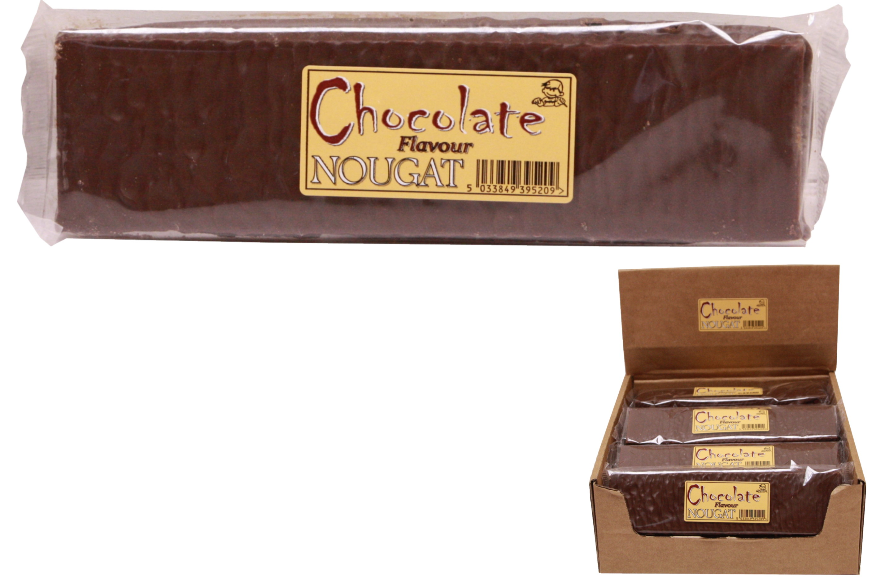 130g Chocolate Flavour Covered Nougat Bar