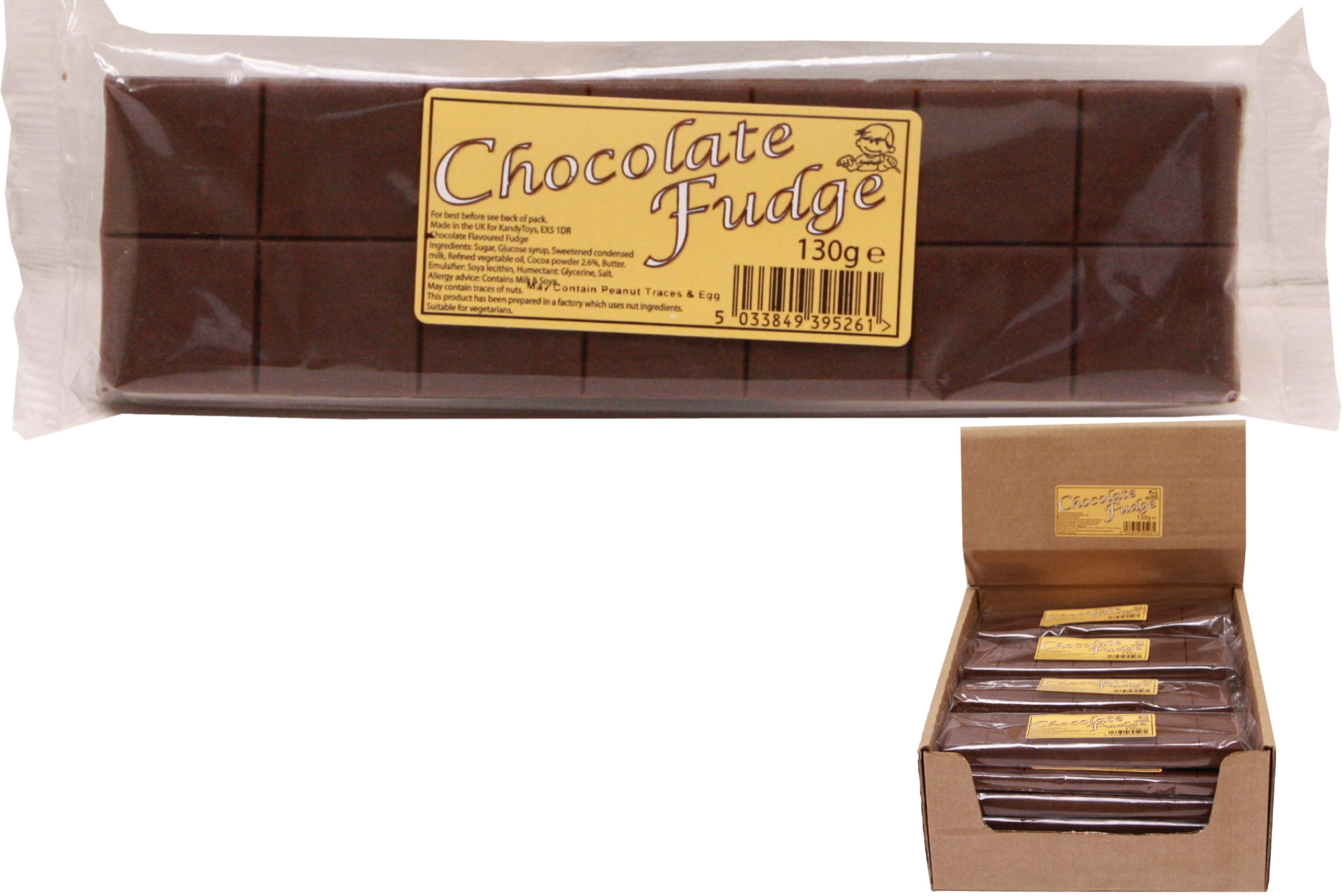 130g Chocolate Flavour Fudge Bar