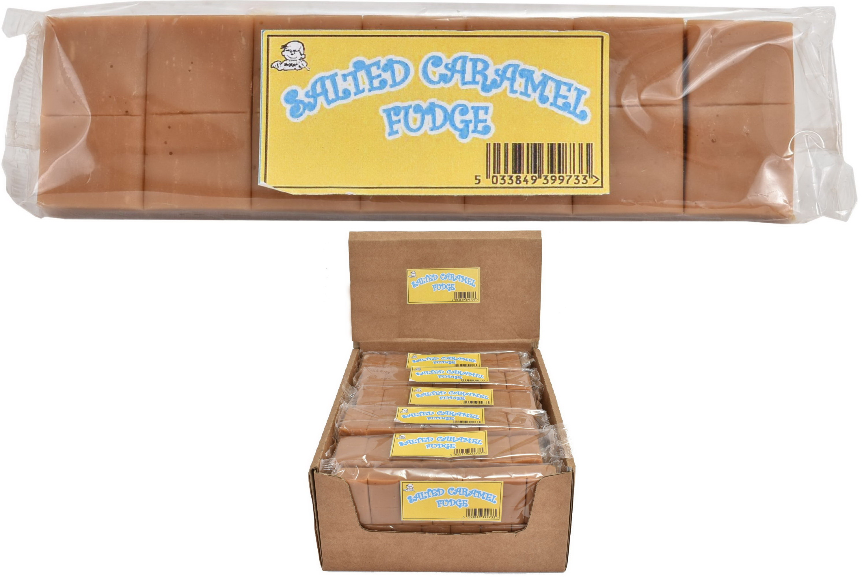 130g Salted Caramel Fudge Bar