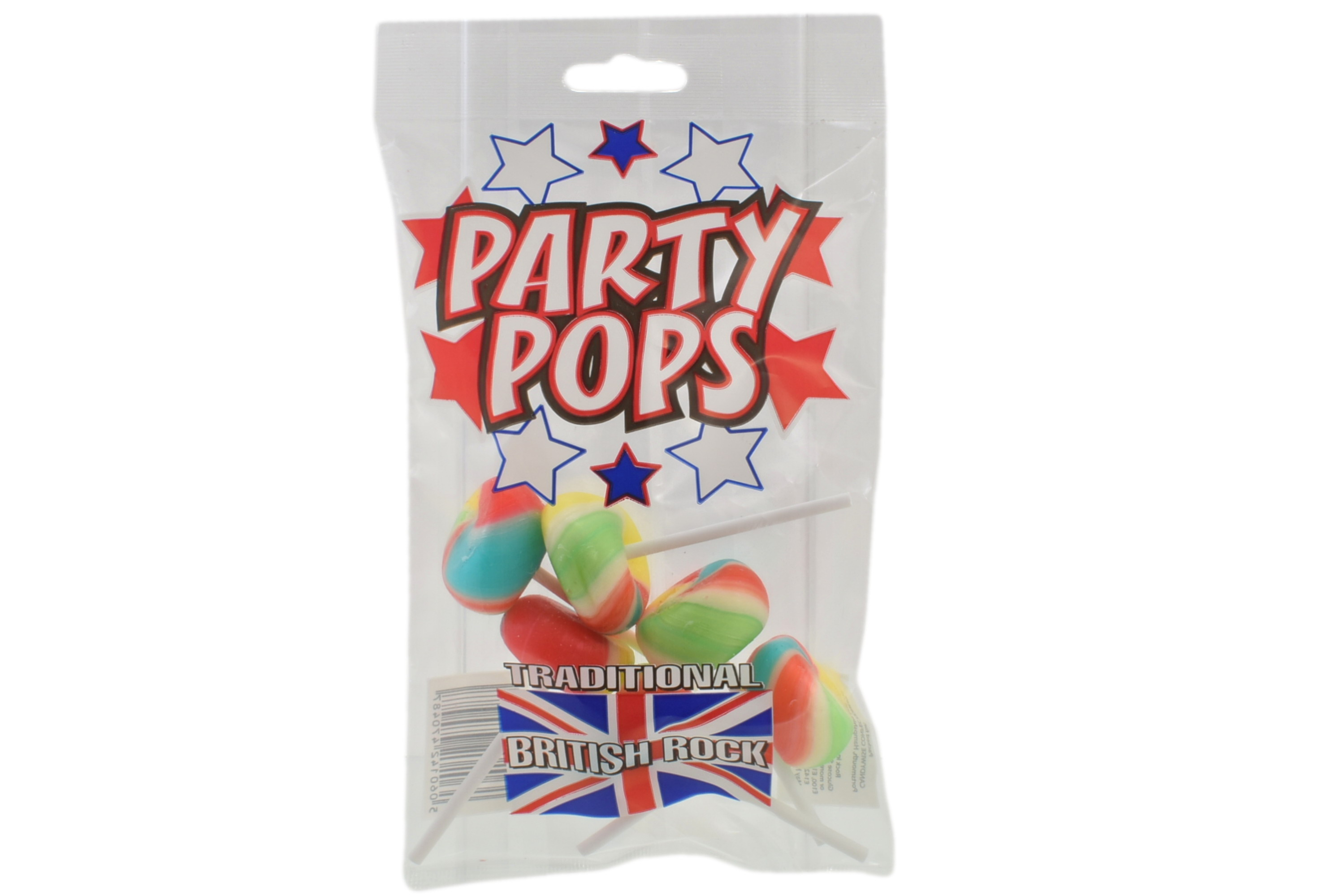 Party Pops - 6 Lollies