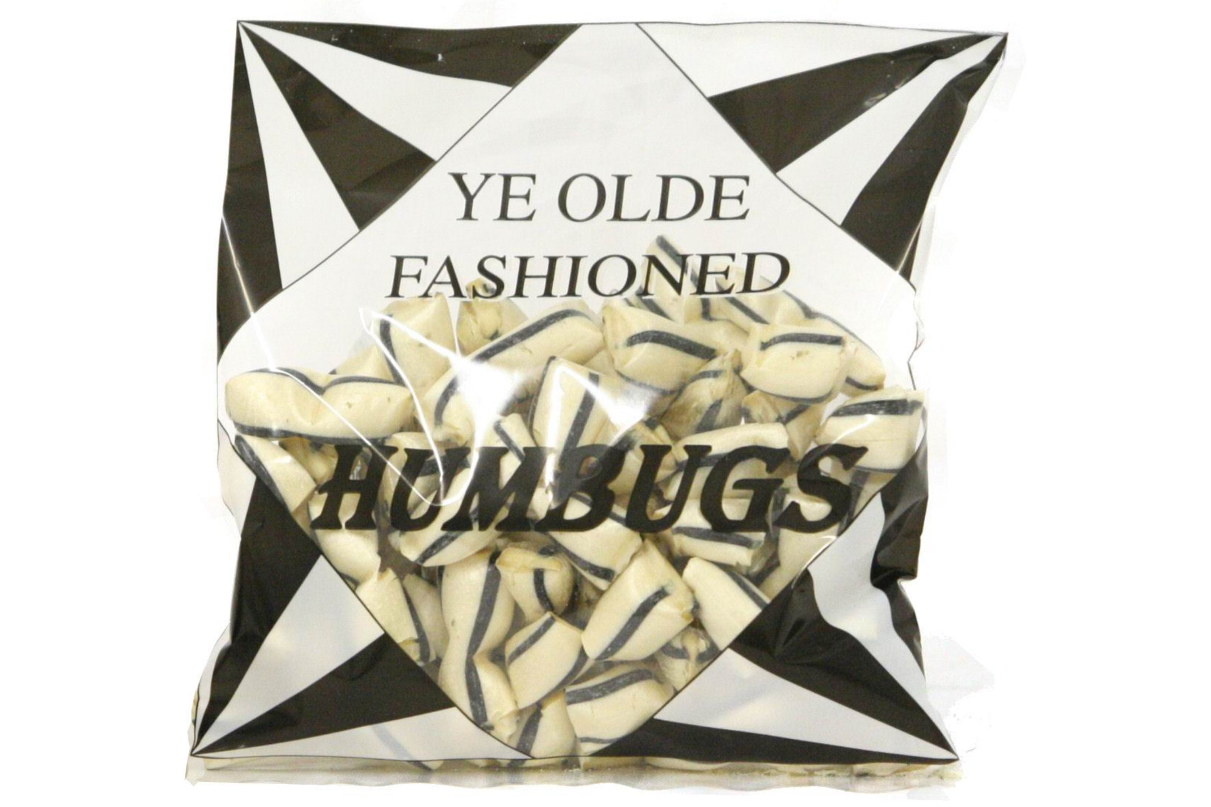 250g Bag Of Black & White Humbugs