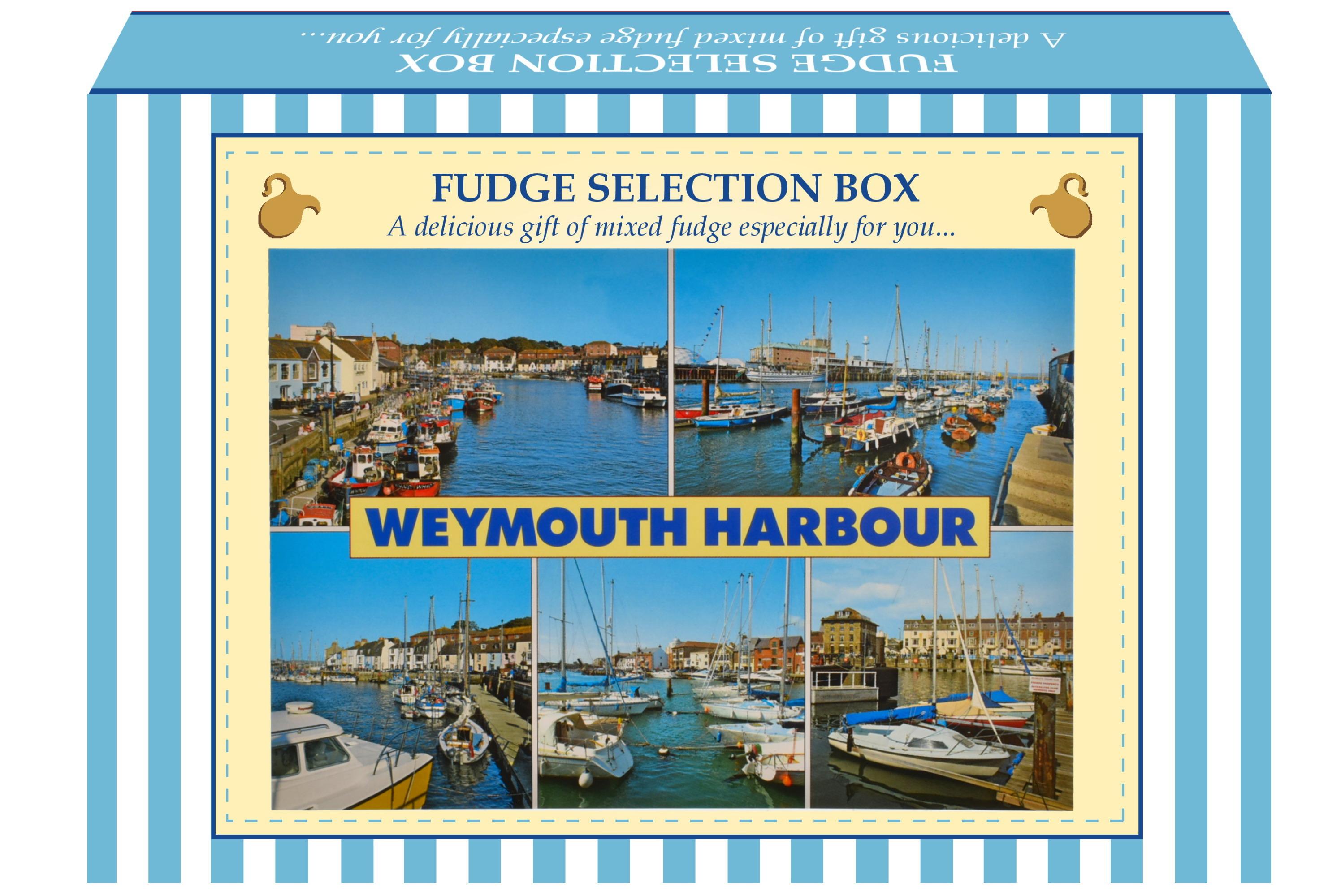 200g Mixed Fudge Postcard Gift Box