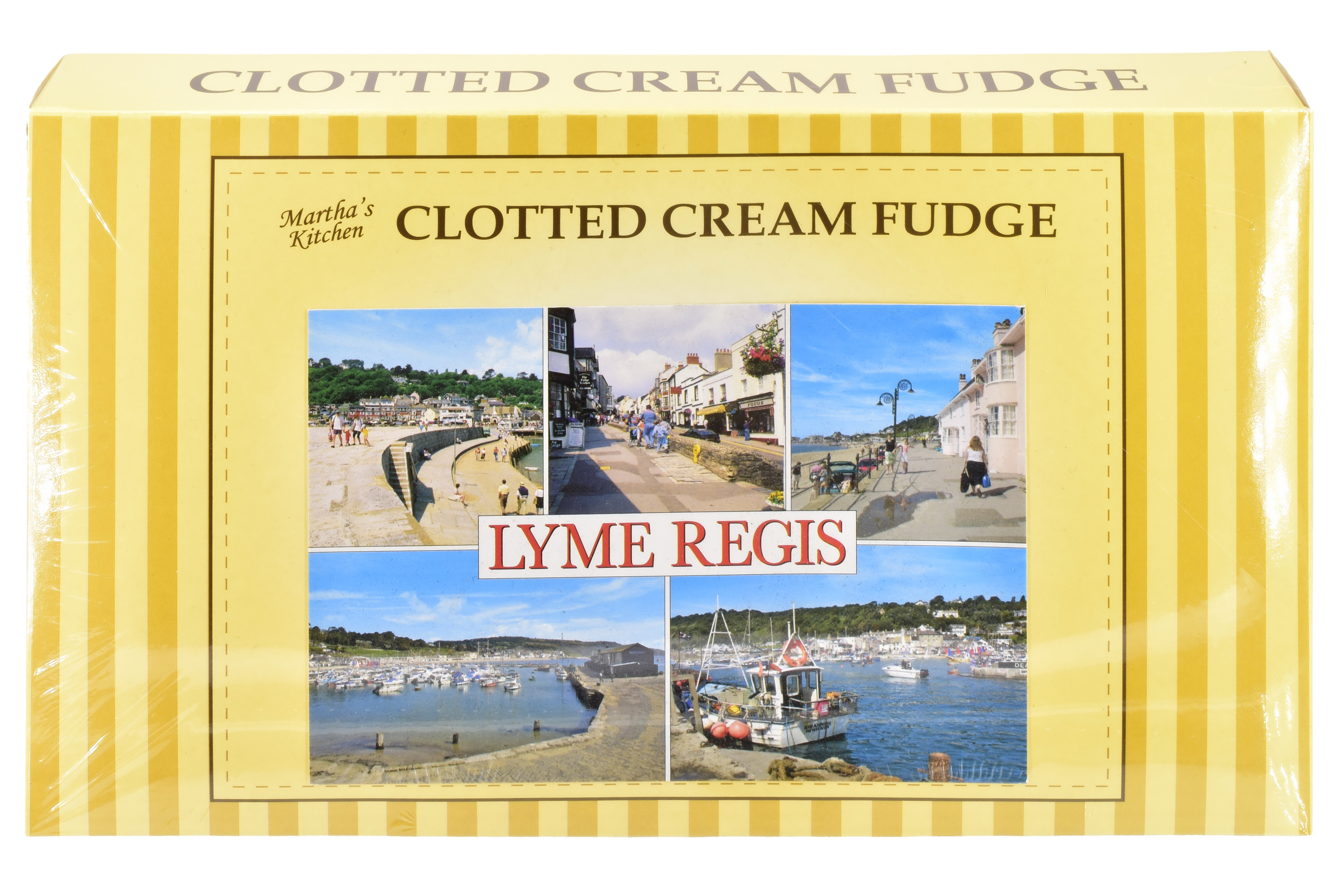 300g Clotted Cream Fudge Postcard Gift Box