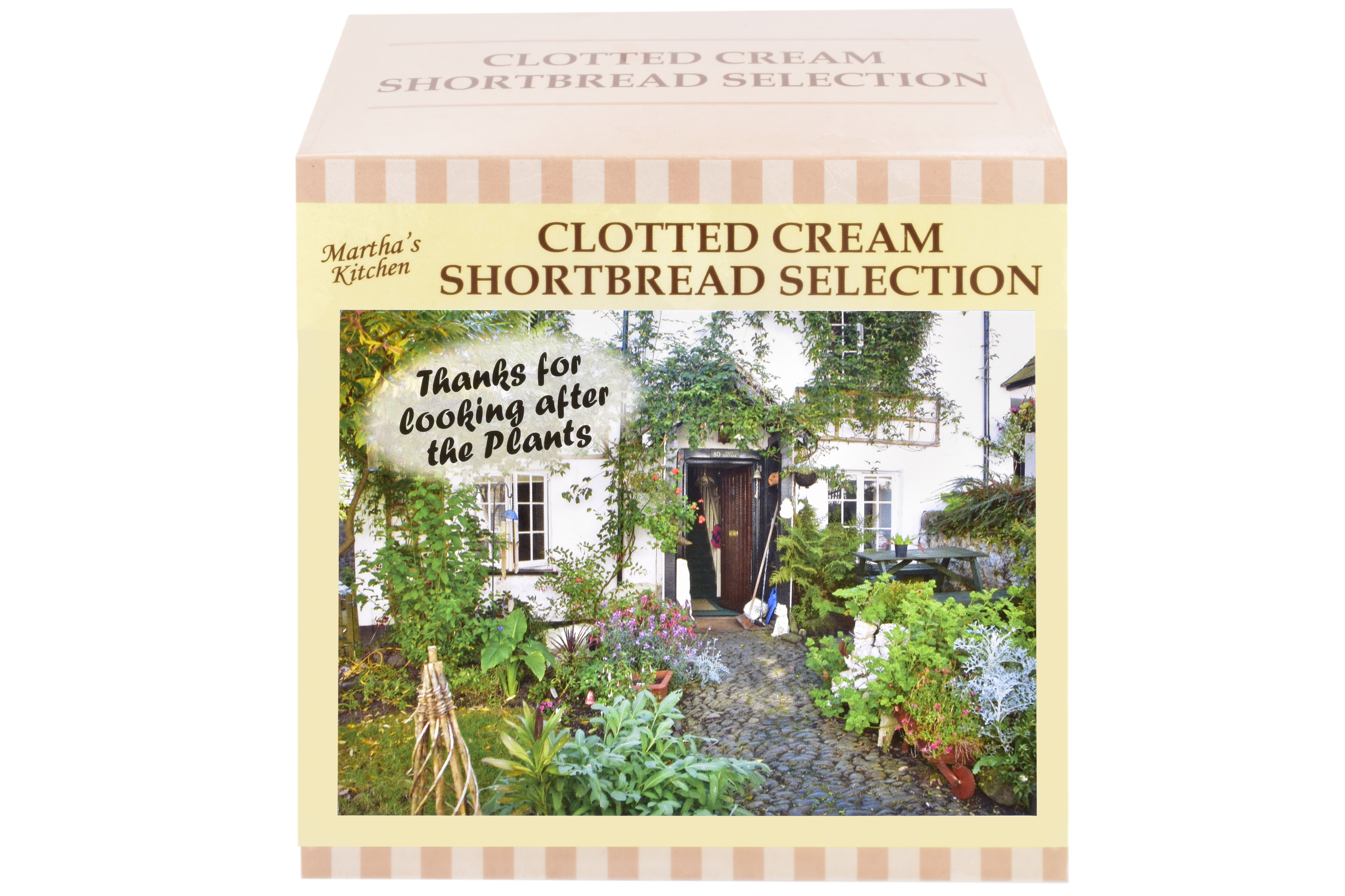 """300g Biscuit Selection """"Plant"""" Postcard Gift Box"""