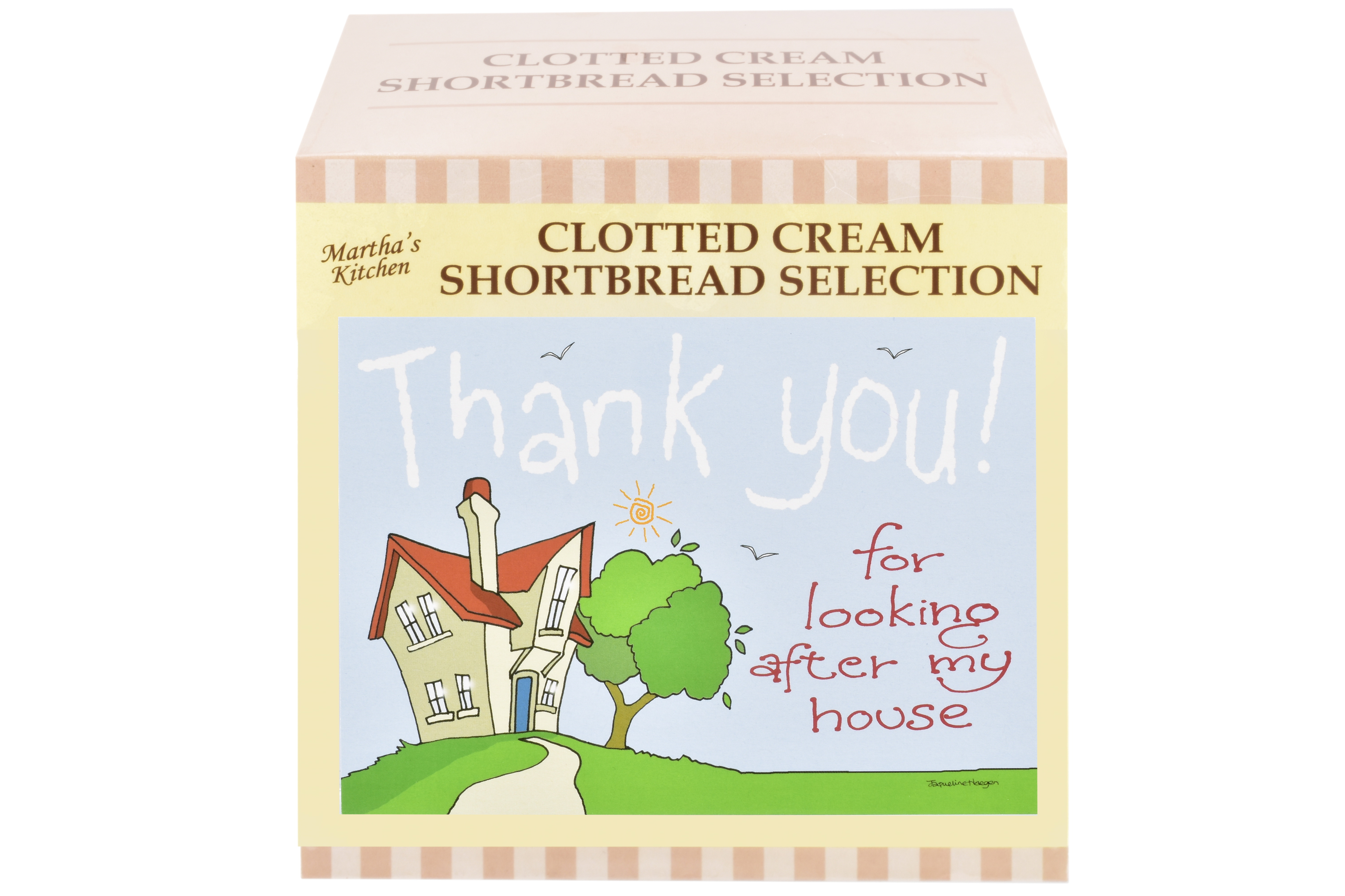"""300g Biscuit Selection """"Home"""" Postcard Gift Box"""