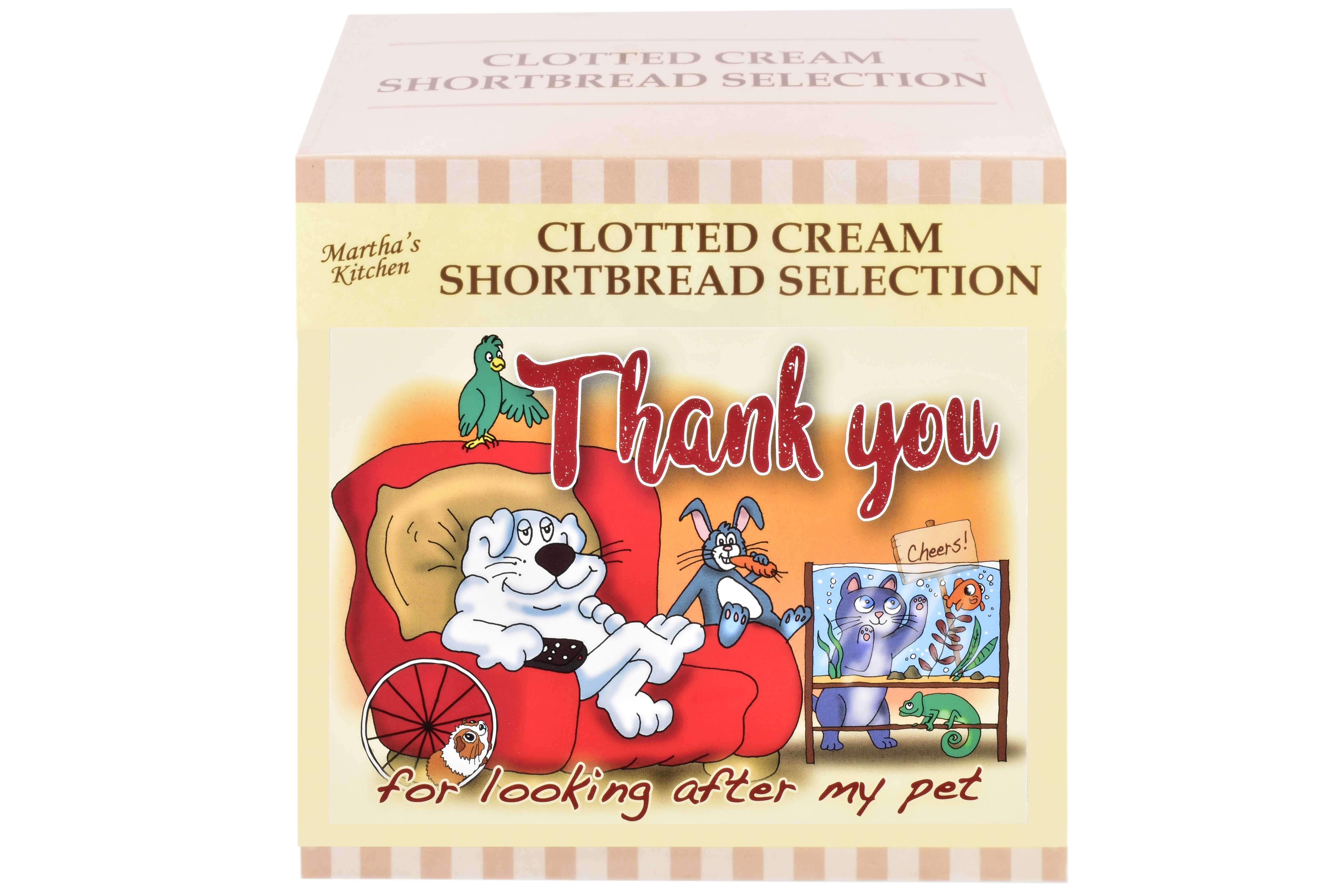 """300g Biscuit Selection """"Pet"""" Postcard Gift Box"""