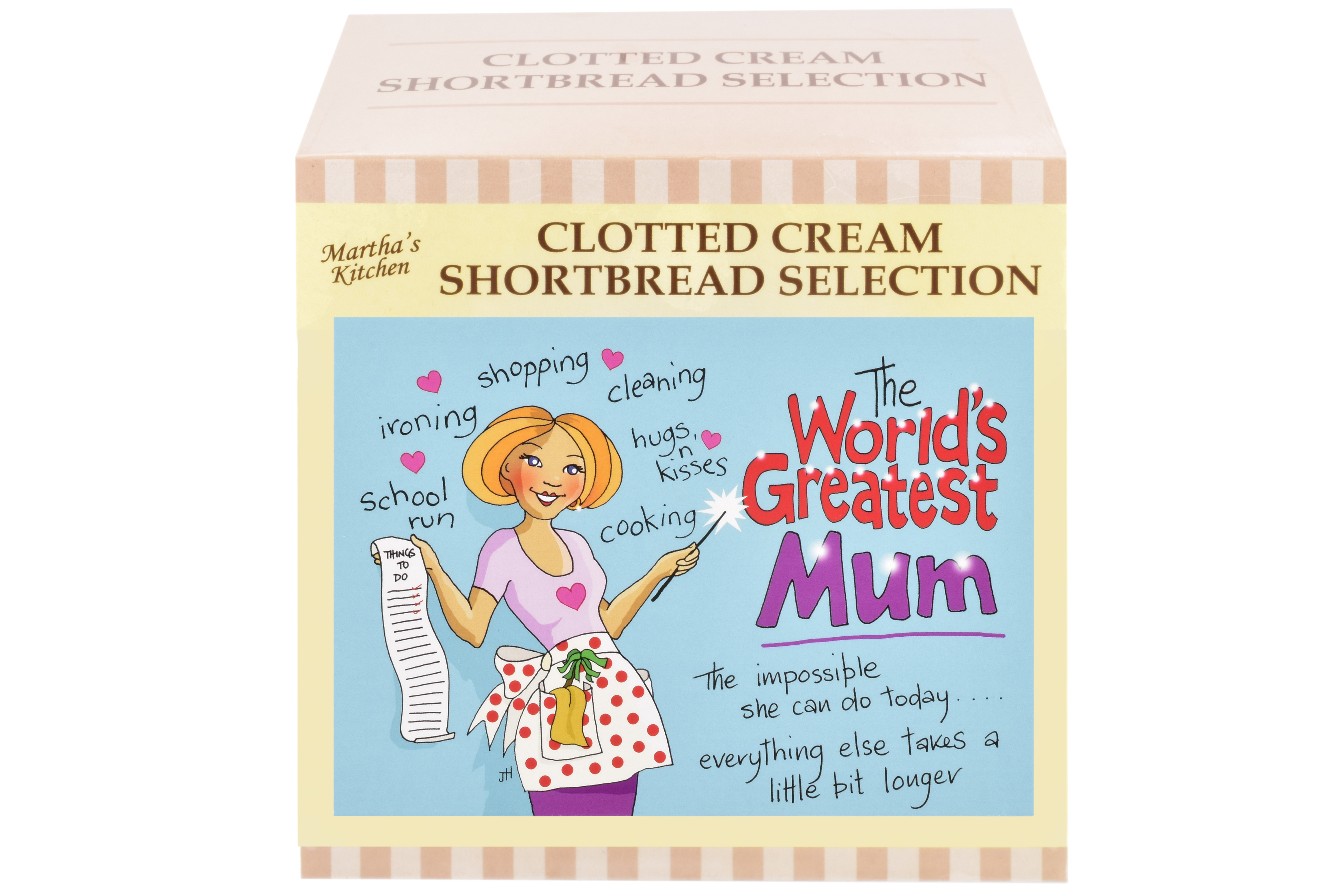 """300g Biscuit Selection """"Mum"""" Postcard Gift Box"""