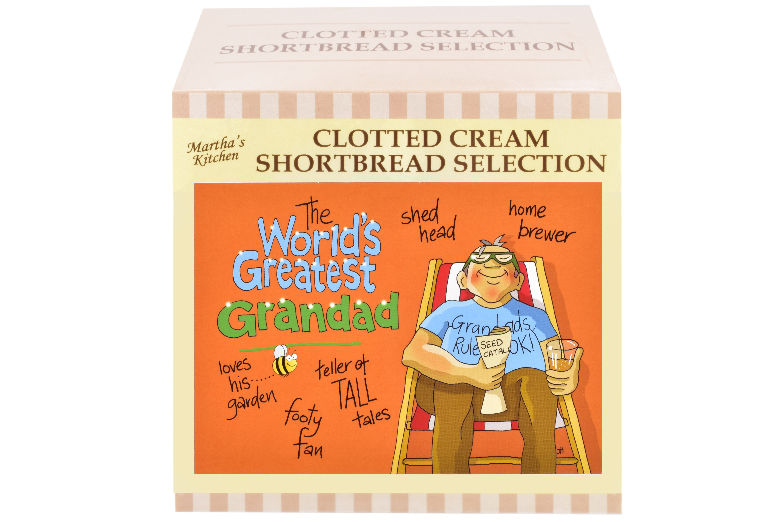 "300g Biscuit Selection ""Greatest Grandad"" Postcard G/B"