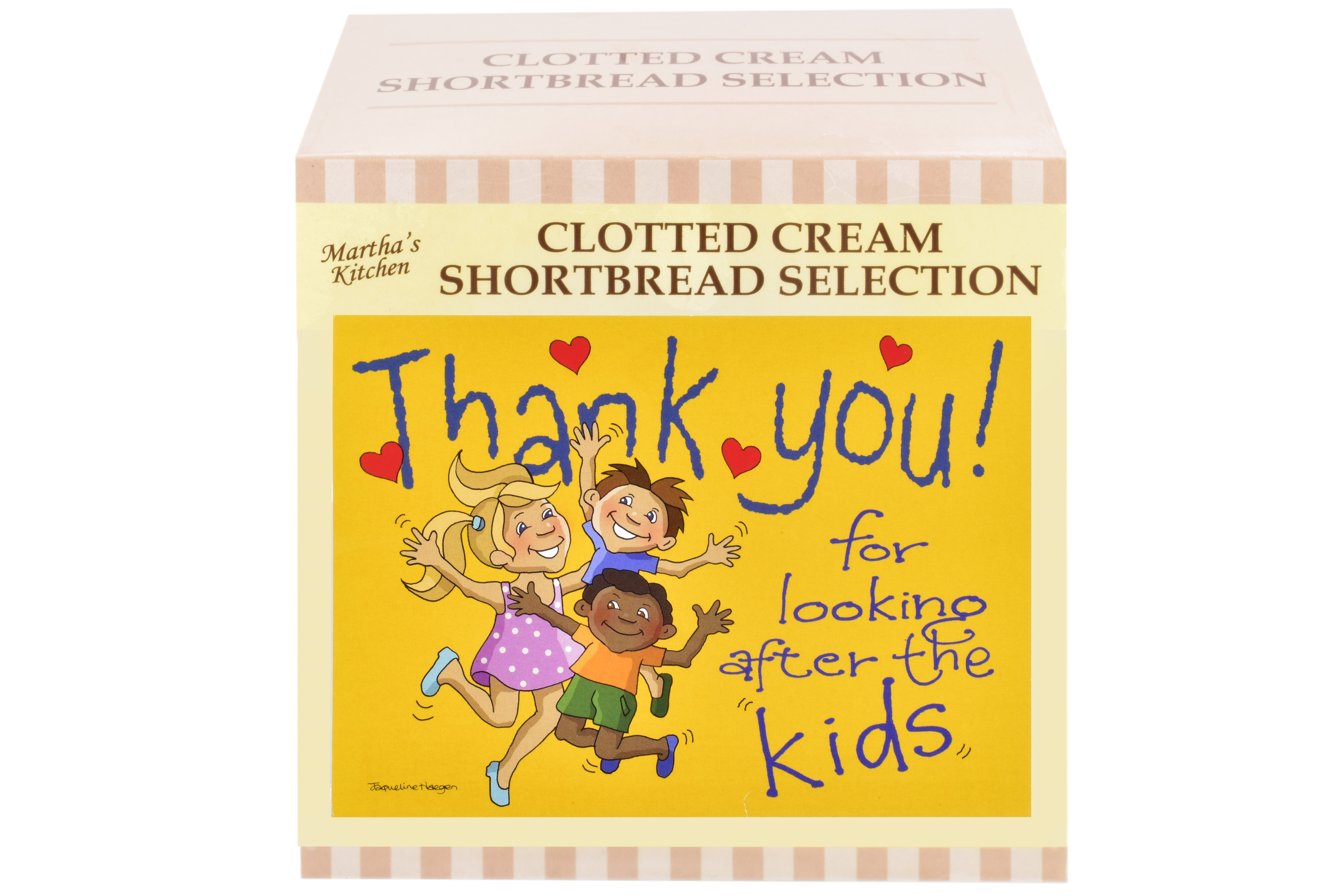 """300g Biscuit Selection """"Kids"""" Postcard Gift Box"""