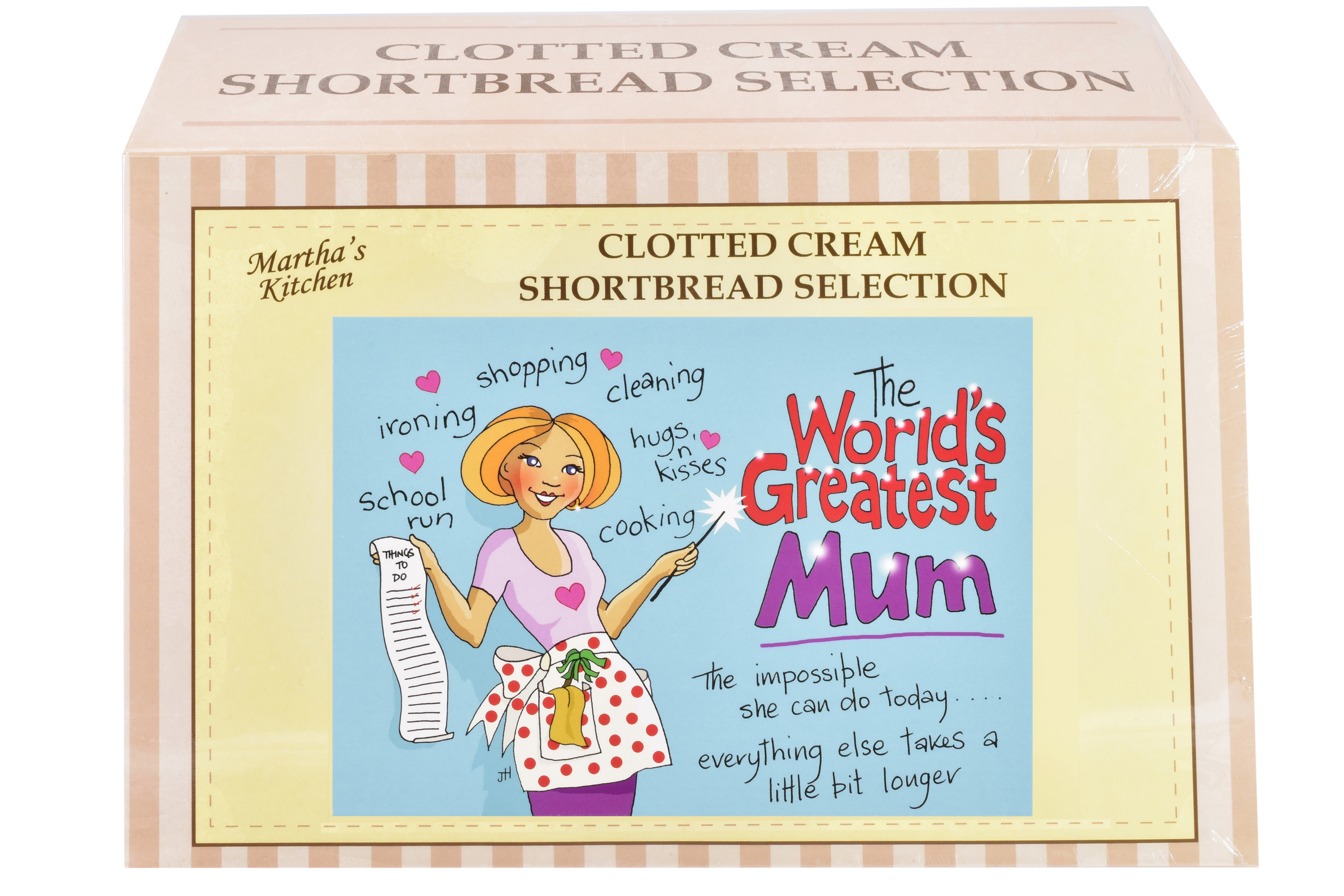 """450g Biscuit Selection """"Mum"""" Postcard Gift Box"""